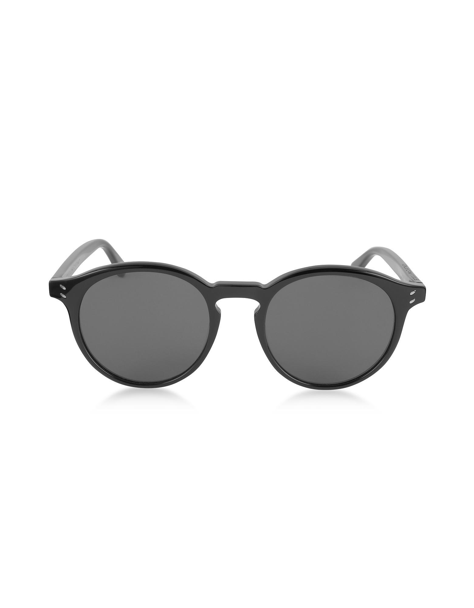 267649b8d3 Stella Mccartney Sc0069s Round Acetate Men s Sunglasses in Black for ...