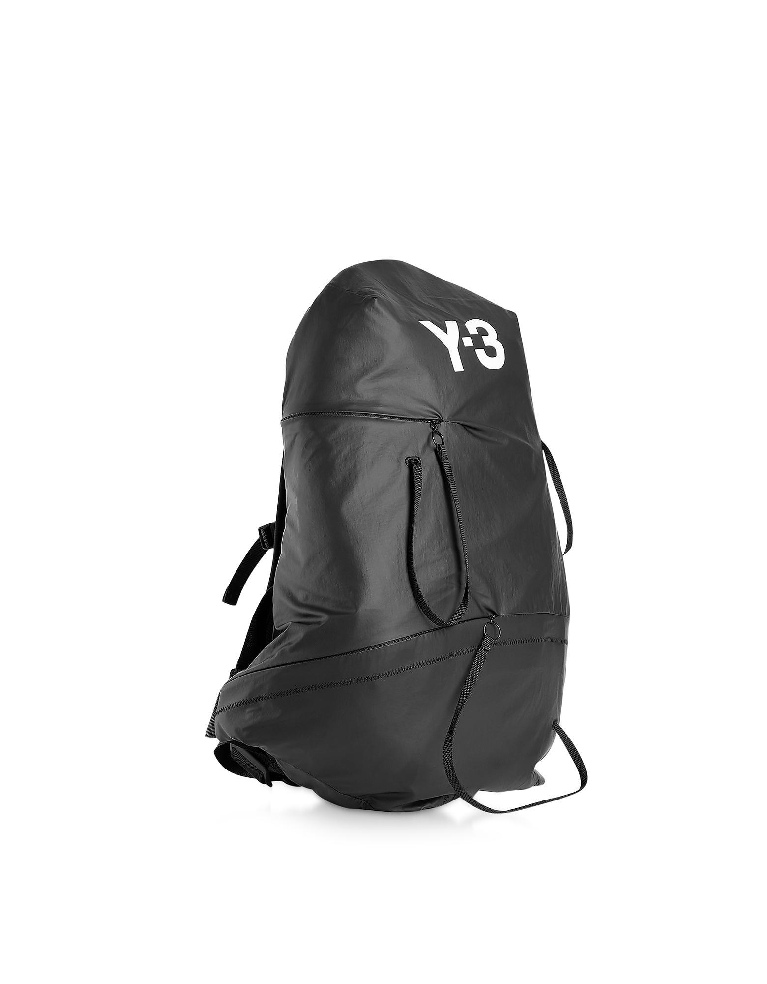 Lyst - Y-3 Black Bungee Backpack in Black for Men f95e7d04d083c