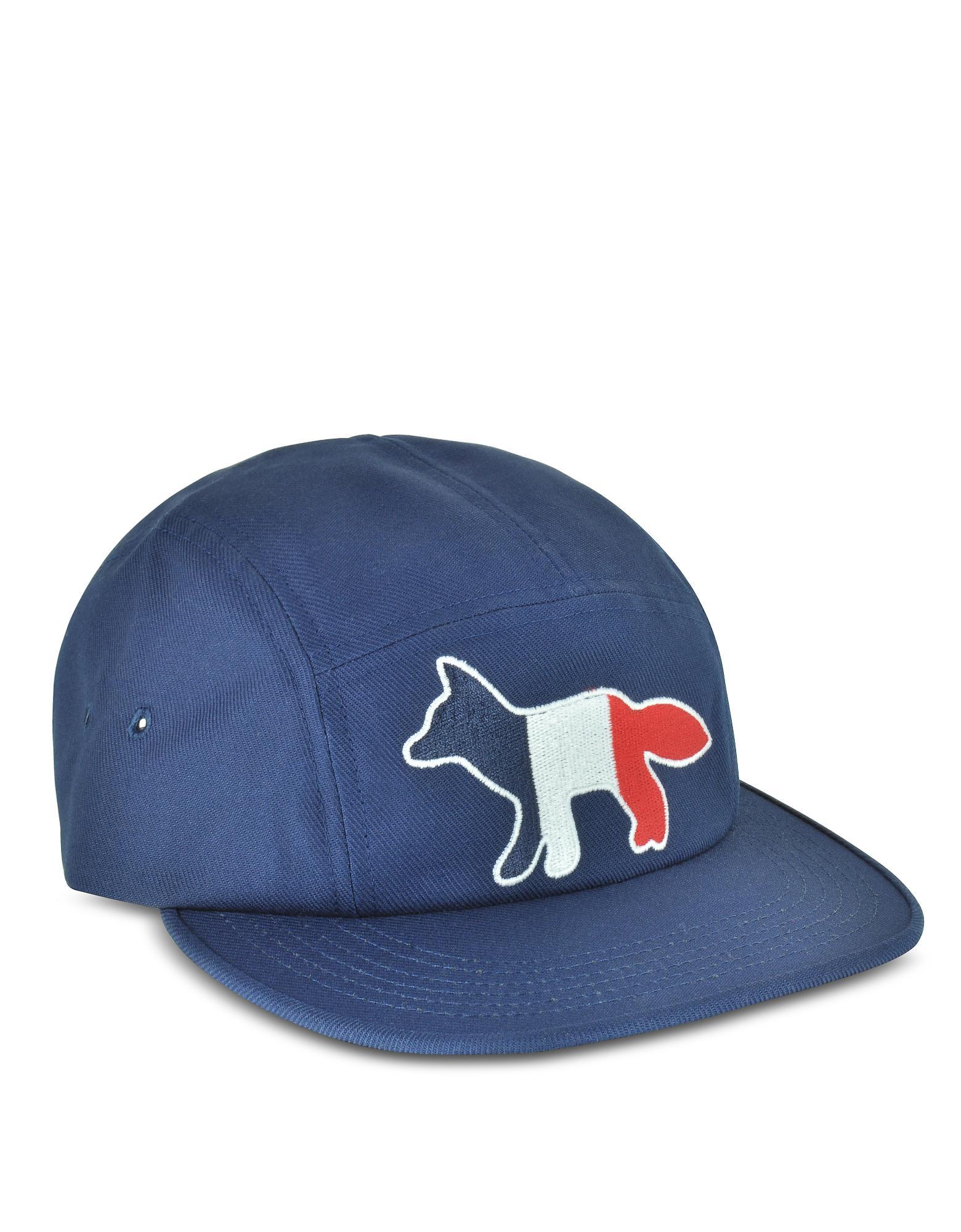 Casquette Baseball Logo Coton Avec En Marine Mélangé Bleu De 9EH2IYWD