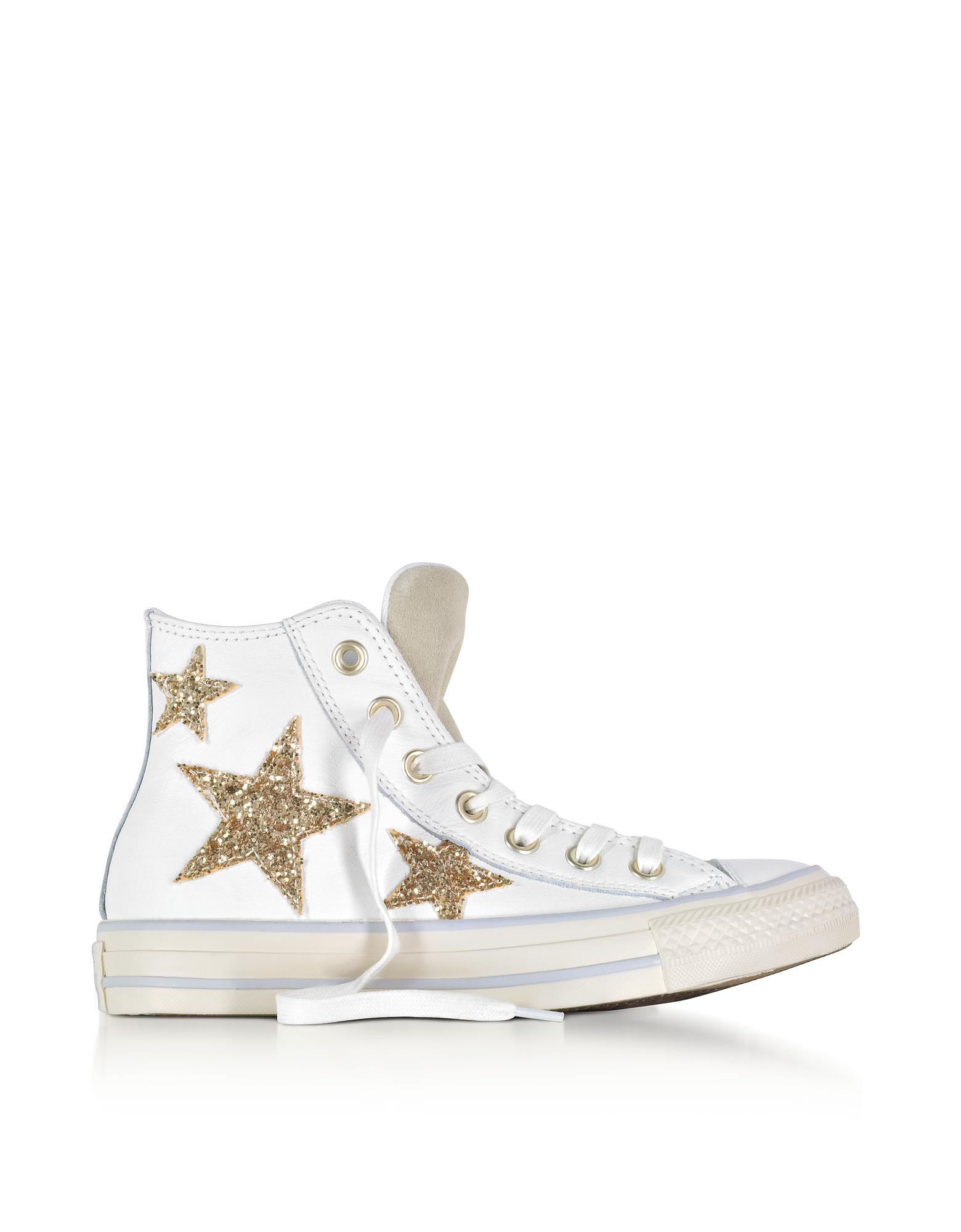Converse Chuck Taylor All Star High Curved Eyestay Leather