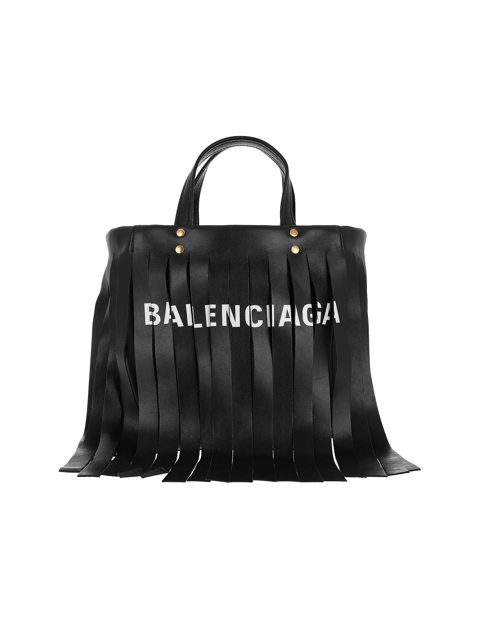 3000f998d9 Lyst - Balenciaga Laundry Cabas Xs Shoulder Bag Black in Black