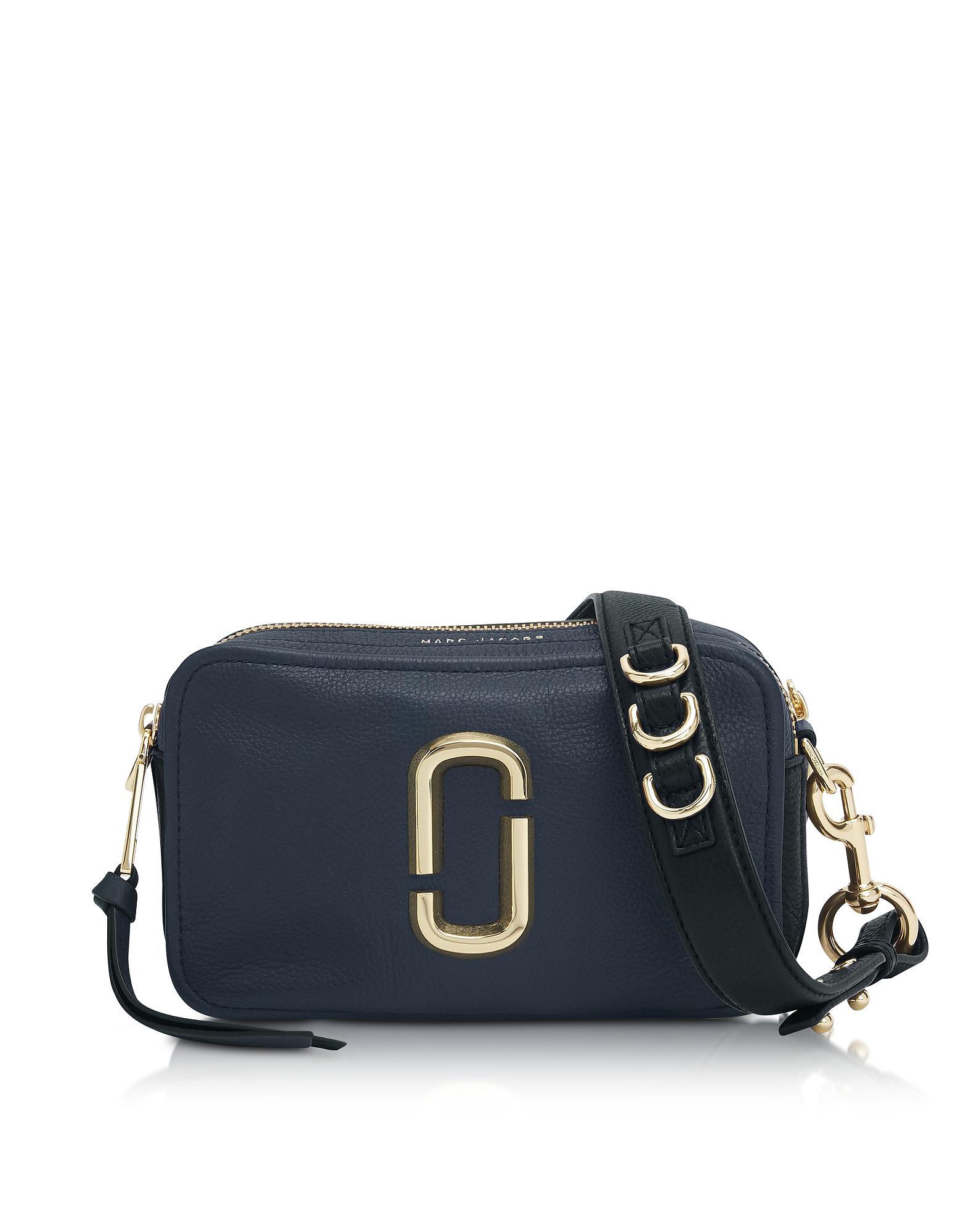 680c094cb915 Lyst - Marc Jacobs The Softshot 21 Shoulder Bag in Blue