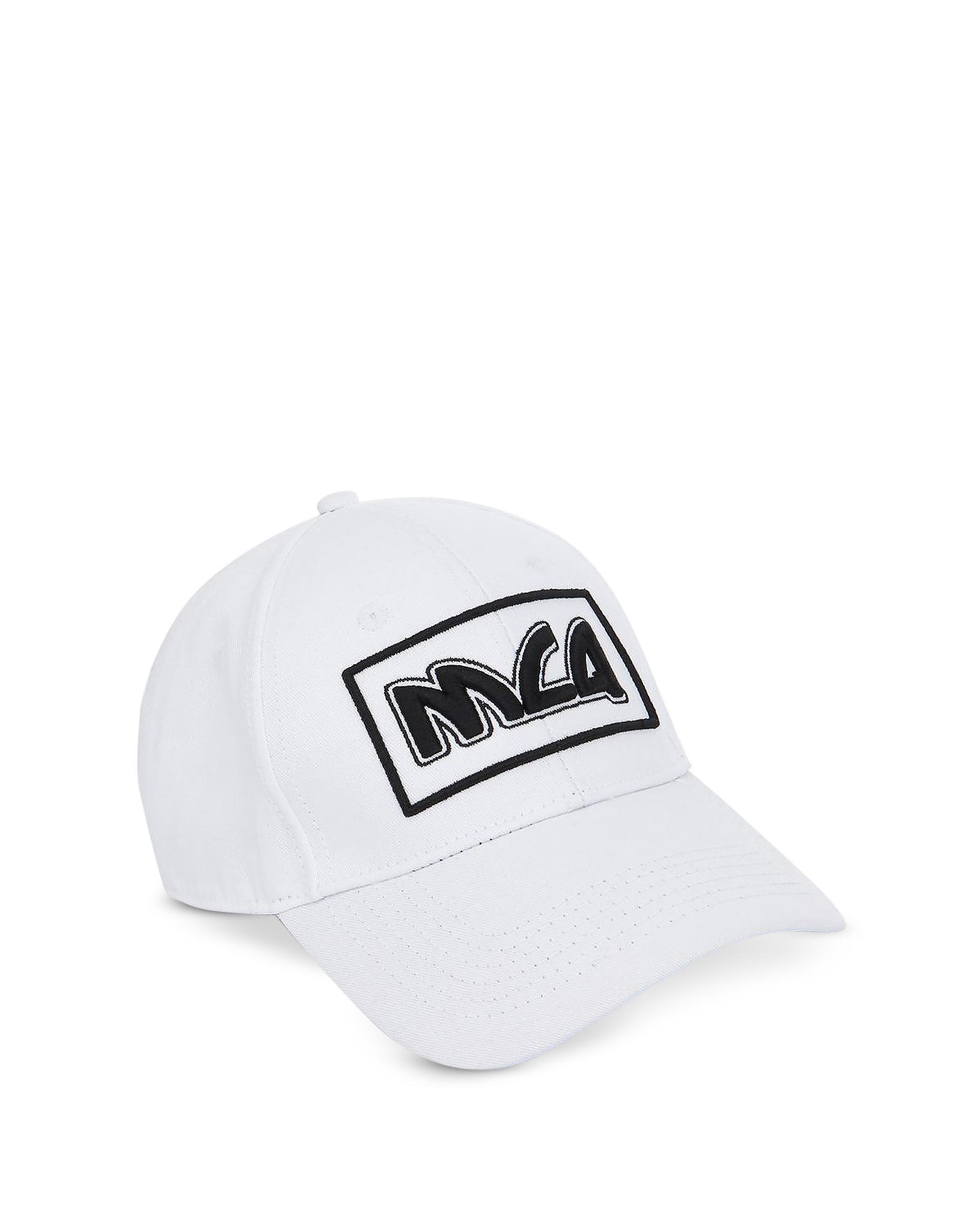 ccff7d7caaa ... Metal Logo Cotton Baseball Cap for Men - Lyst. View fullscreen