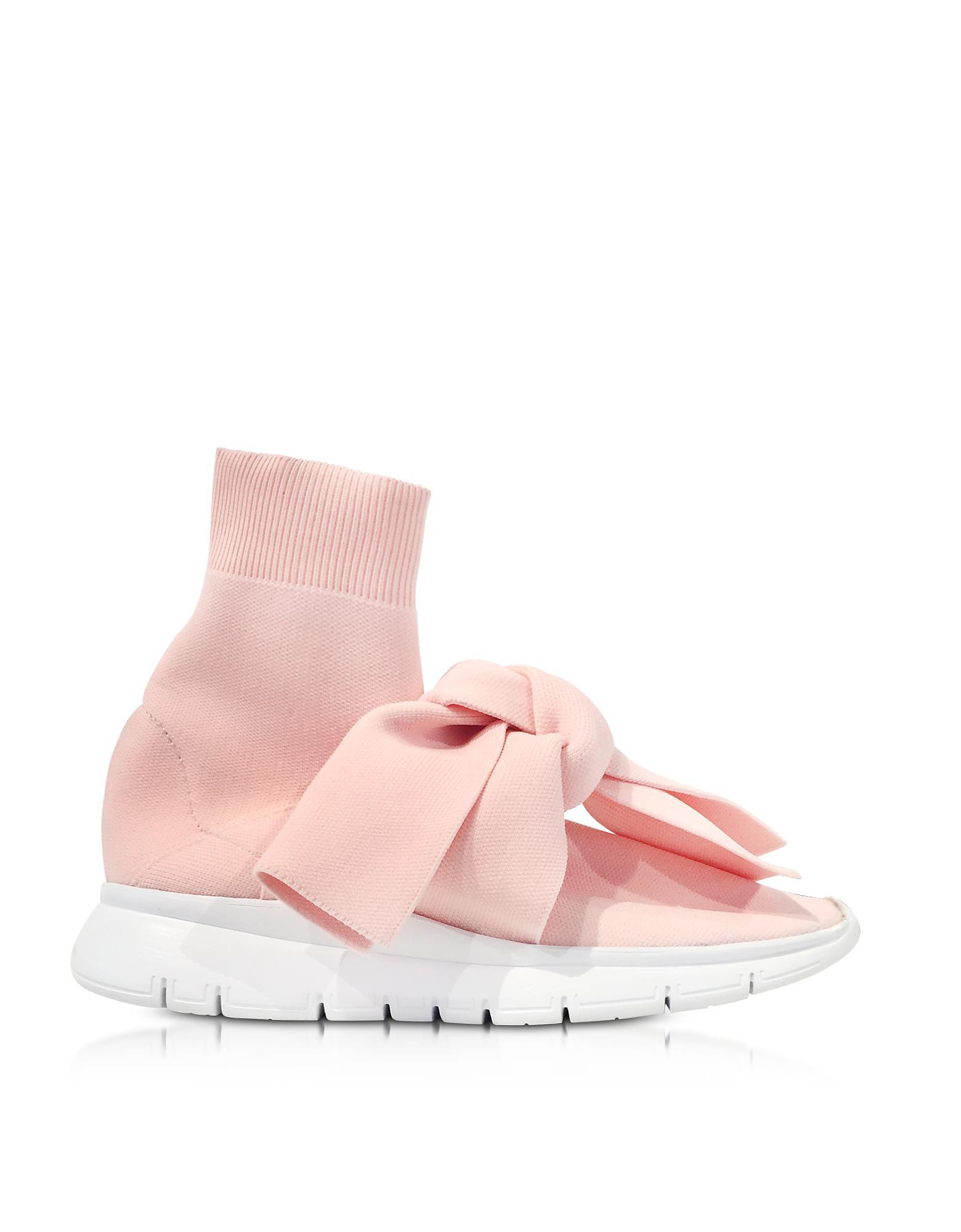 Pink Knot Sock sneakers - Pink & Purple Joshua Sanders vr67M95