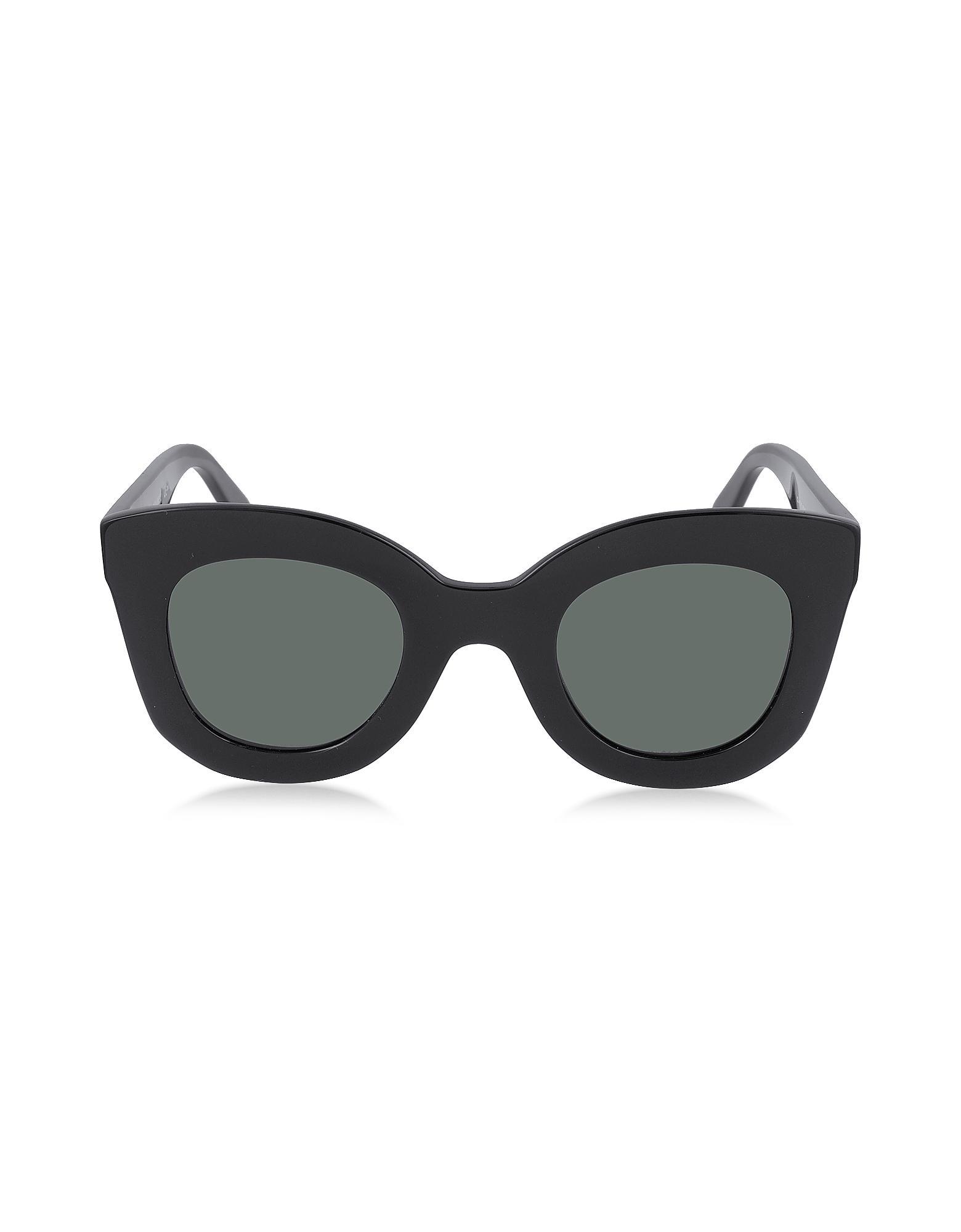 b75515cf251 Lyst - Céline Marta Cl 41093 s Acetate Cat Eye Women s Sunglasses in ...