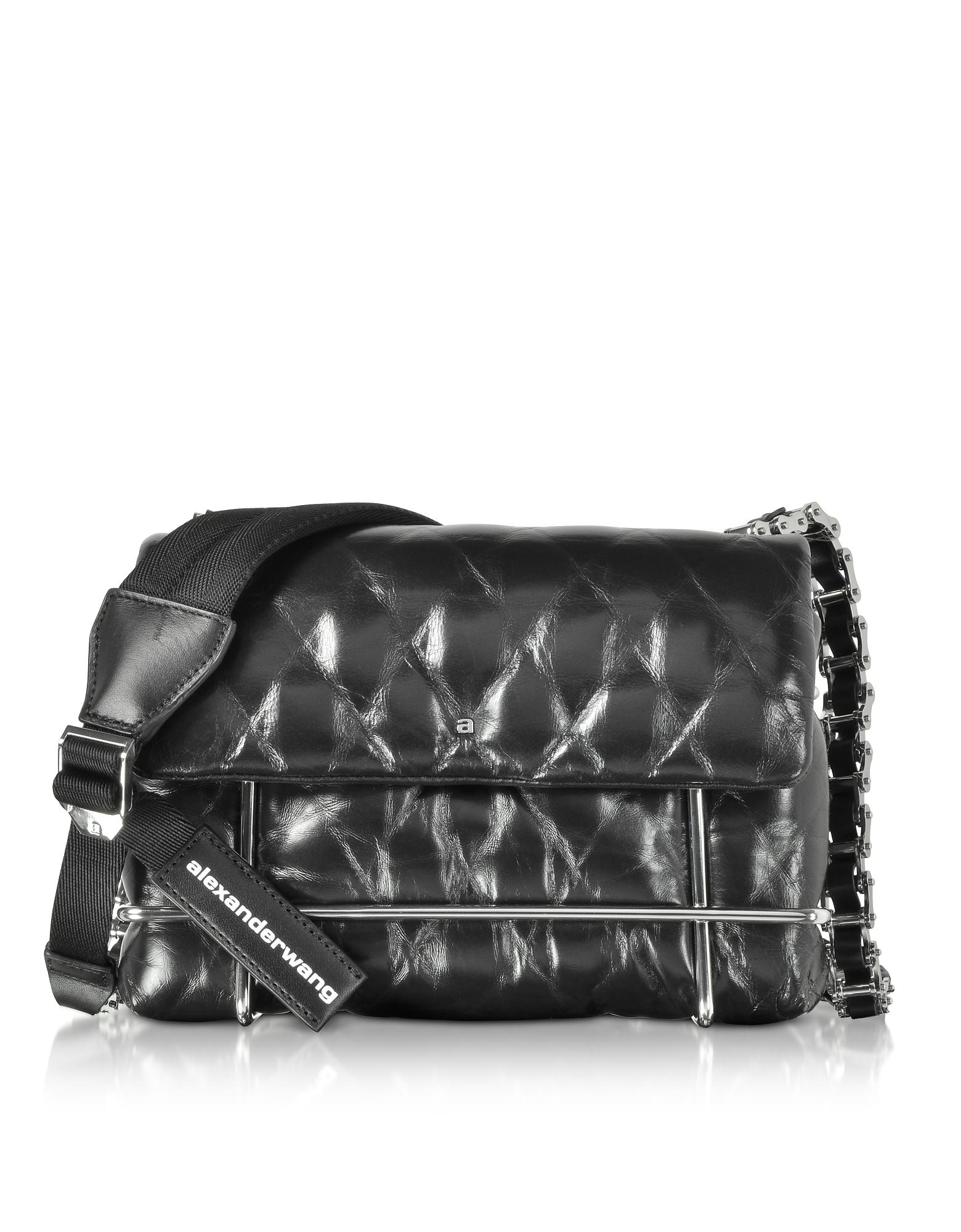 ee2e8f5c5bca Lyst Alexander Halo Black Quilted Leather Shoulder Bag In. Chanel Caviar  Chain ...
