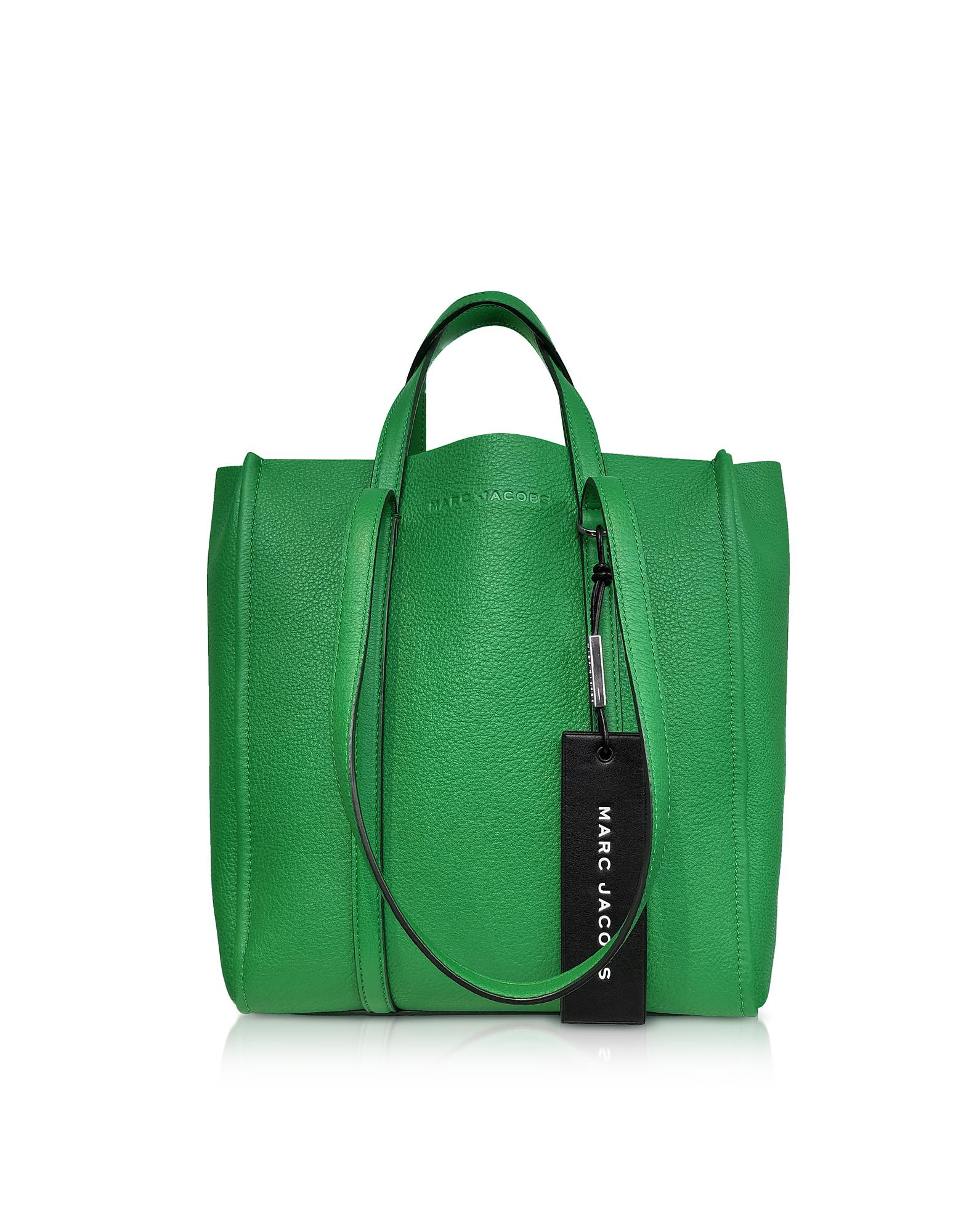 a45001028820 Marc Jacobs The Tag Tote in Green - Lyst