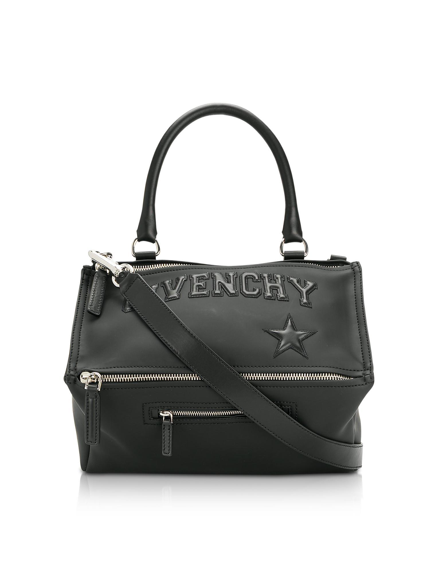d43734a8c4 Lyst - Givenchy Black Polyvinyl Medium Pandora Bag in Black