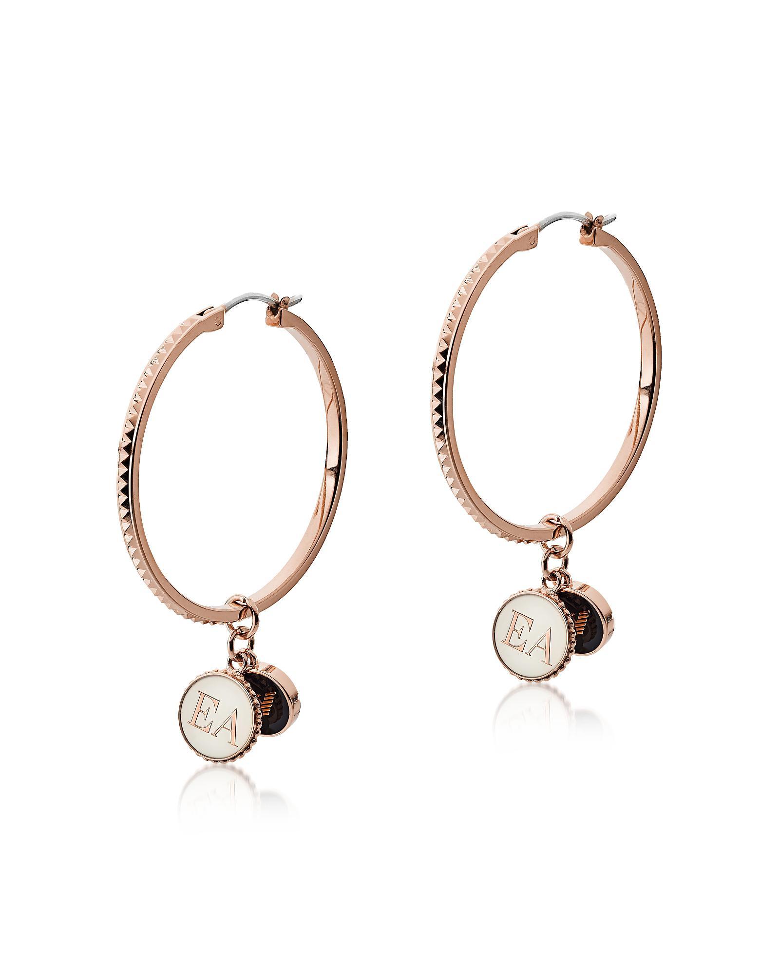 ea53b65c Lyst - Emporio Armani Egs2584221 - Women's Earring in Metallic