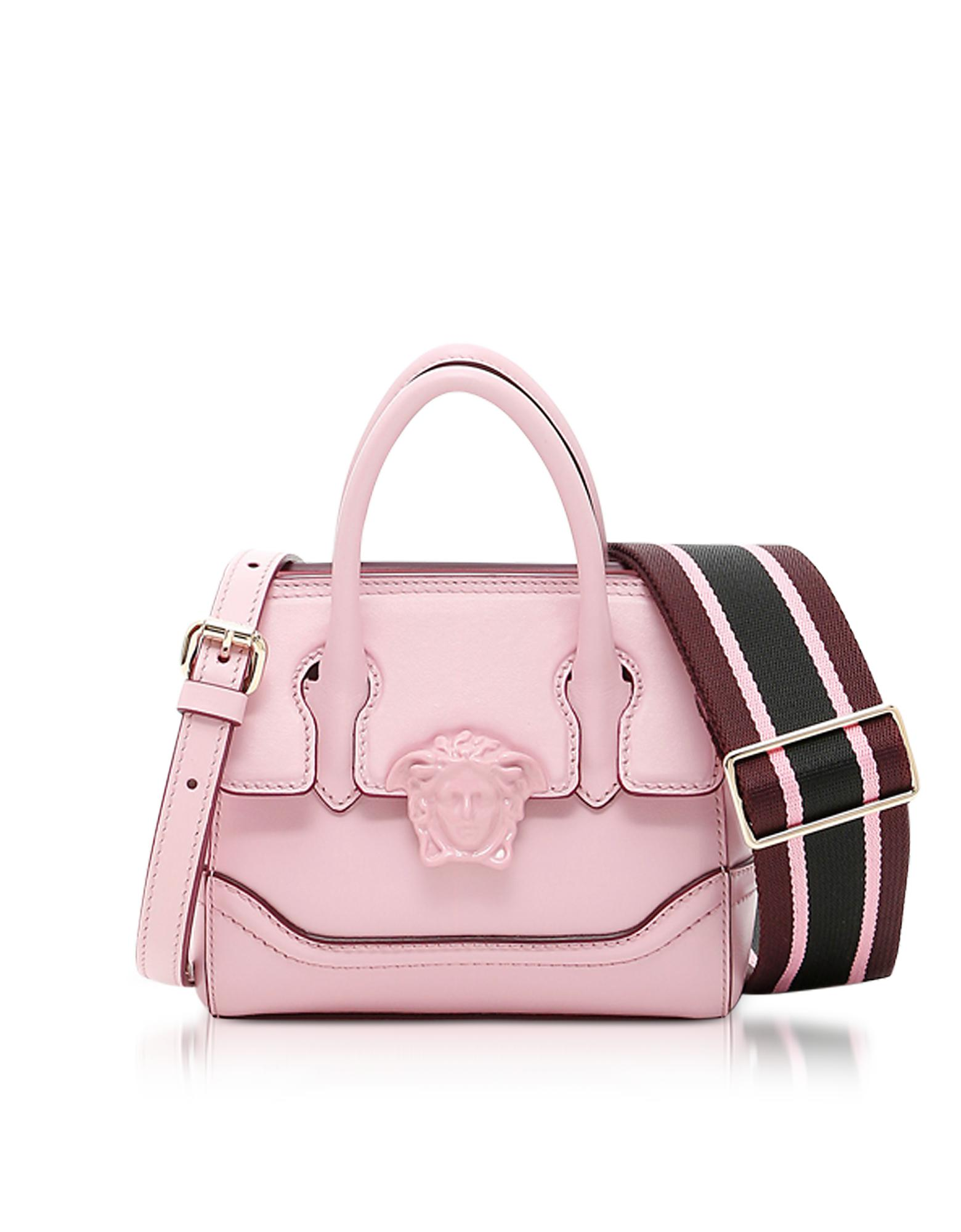 82e3056b Versace Palazzo Empire Pink Leather Mini Handbag