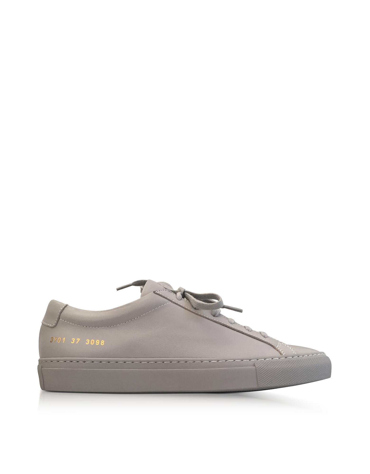 COMMON PROJECTS Designer Shoes, Leather Achilles Original Low Top Women's Sneakers