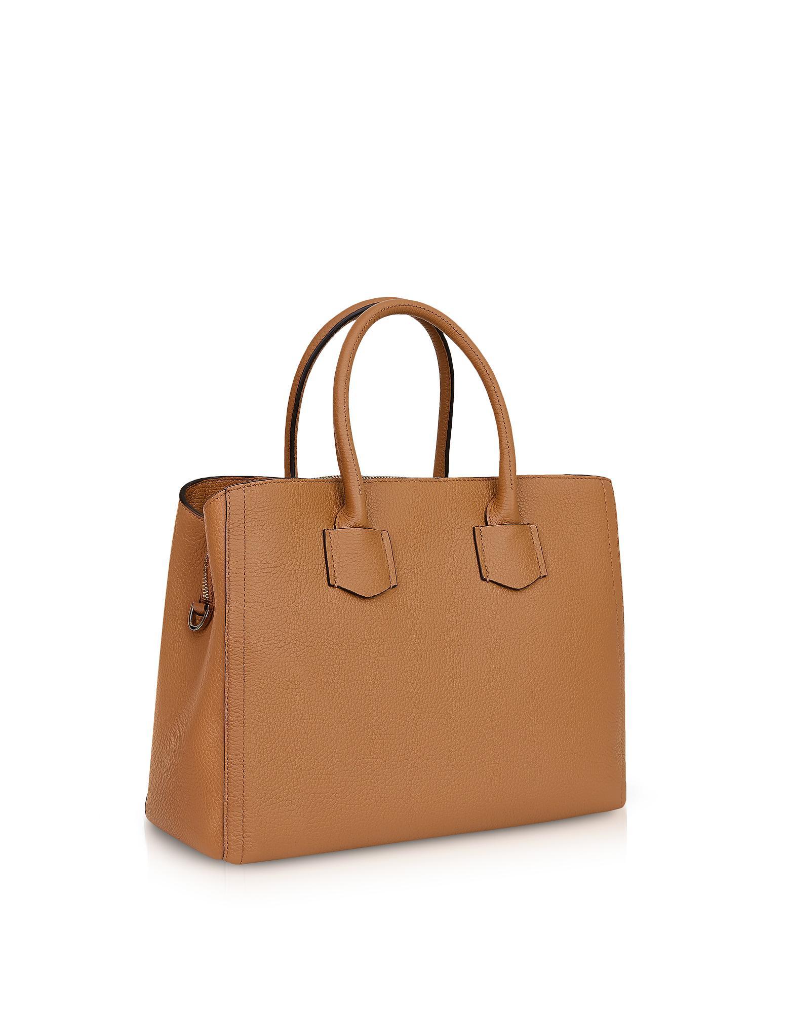 dd941139dcc13 Lyst - Furla Eden Medium Tote Bag in Brown