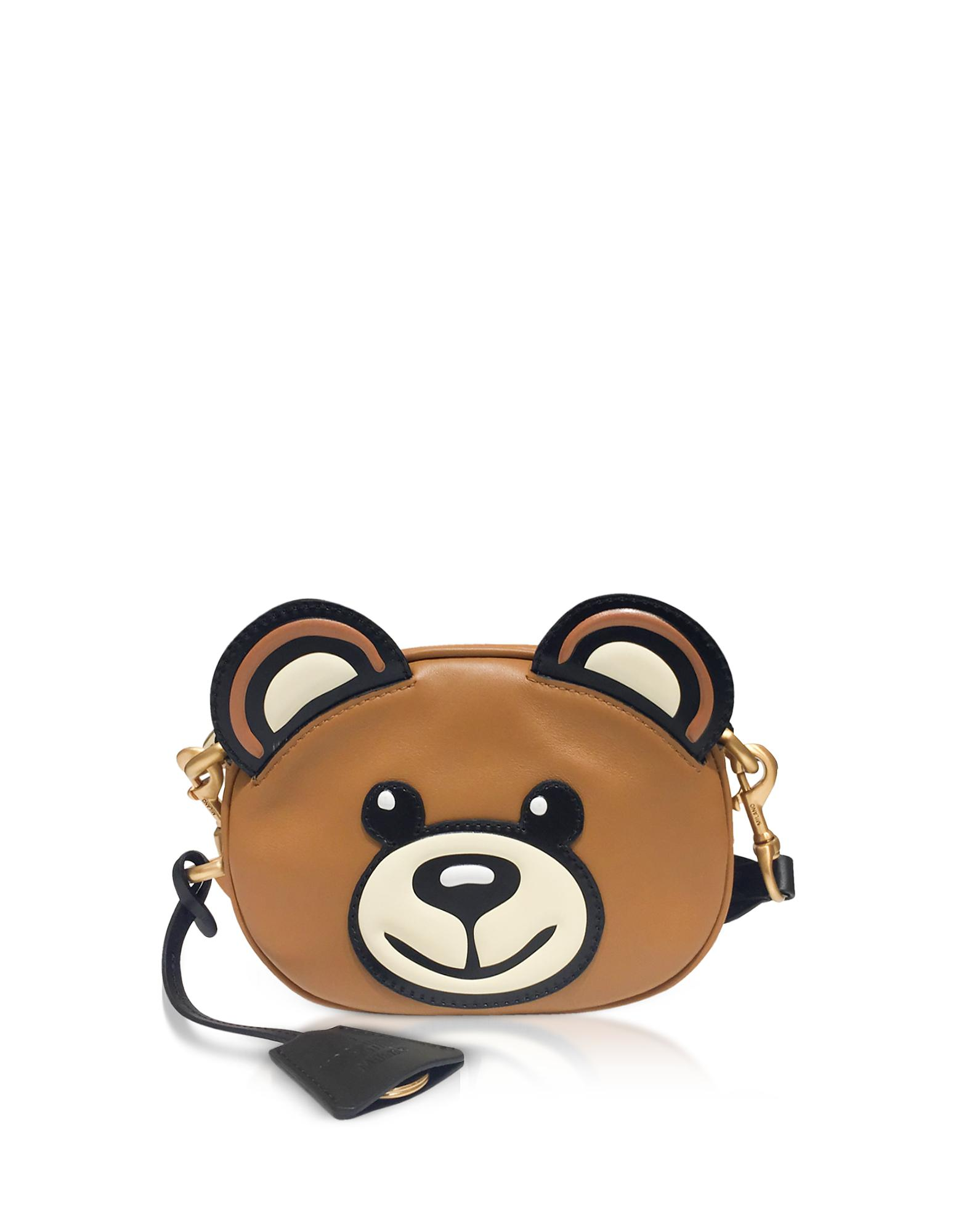 c3595d039d85 Lyst Moschino Teddy Bear Head Shoulder Bag In Brown