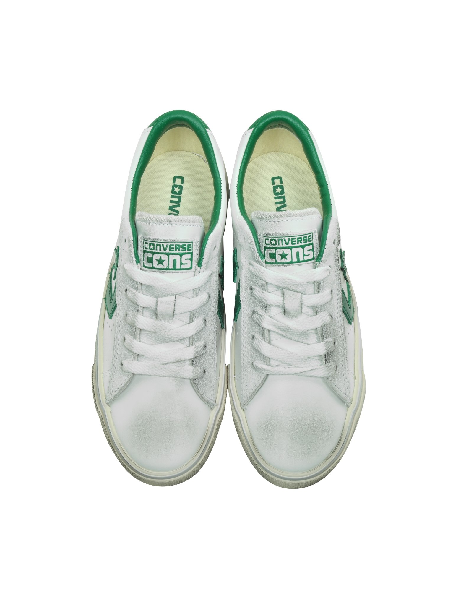 052ba7bc384c Converse Pro Leather Vulc Ox Off White Distressed Leather Unisex ...