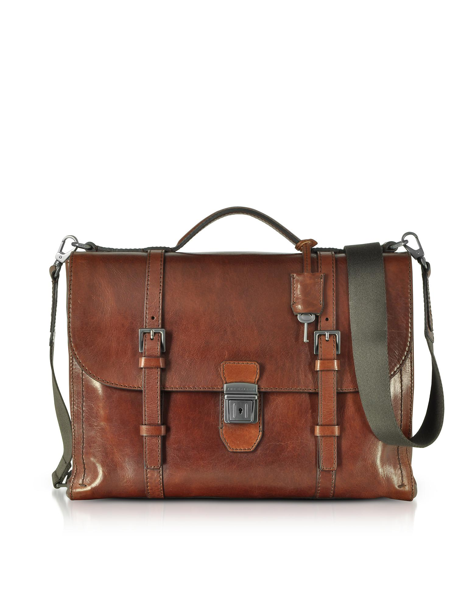 The Bridge Byron shoulder bag with pocket Luggage