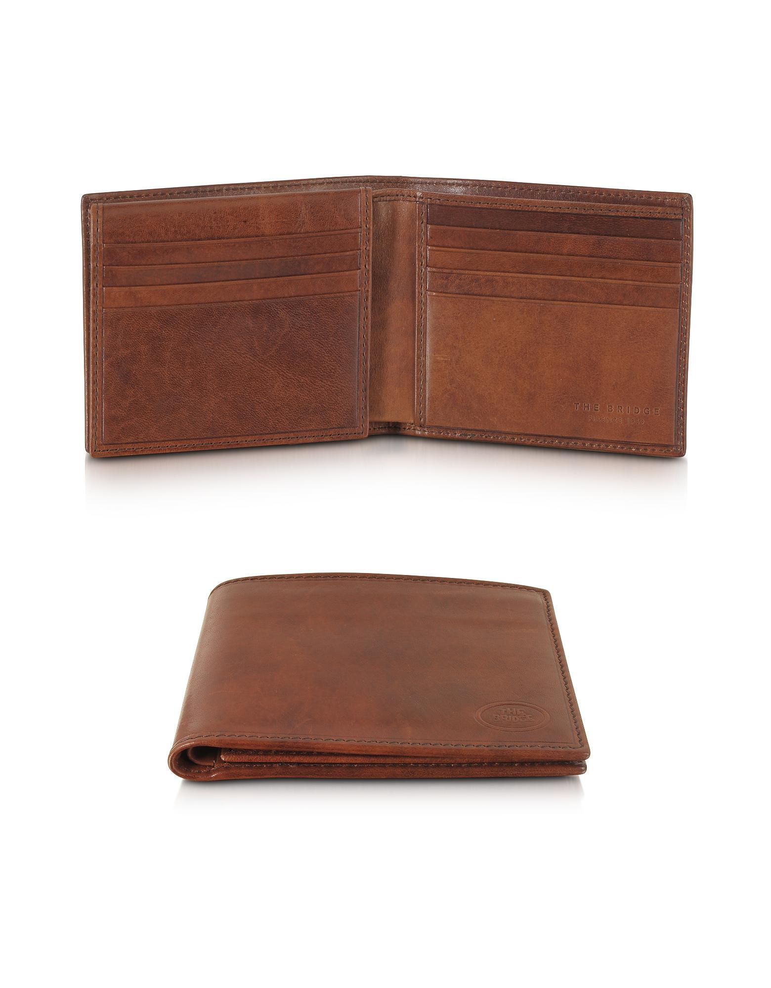 277b6fbcb2 The Bridge Story Uomo Leather Men's Billfold Wallet in Brown for Men ...