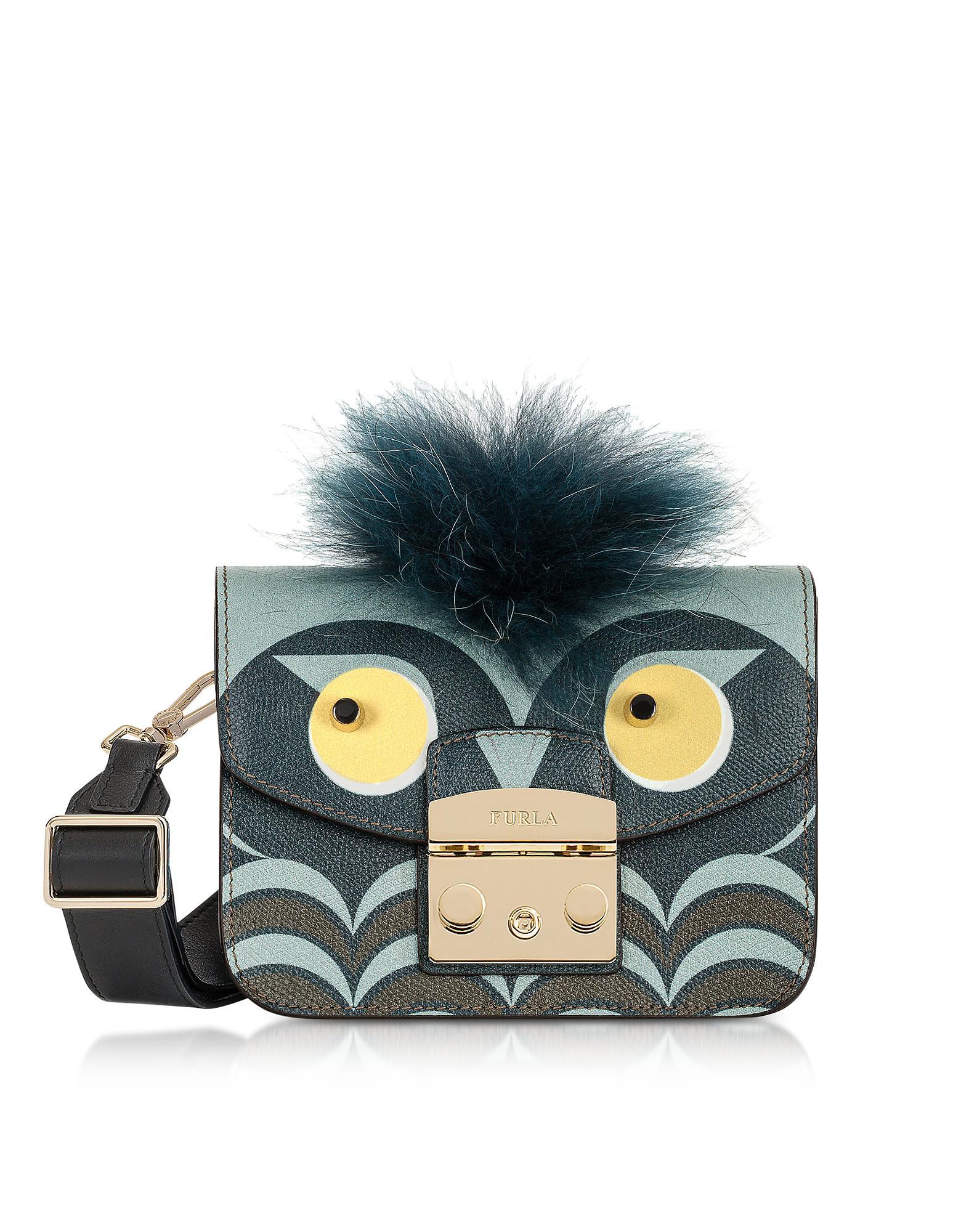Metropolis Jungle Owl Mini Crossbody Bag