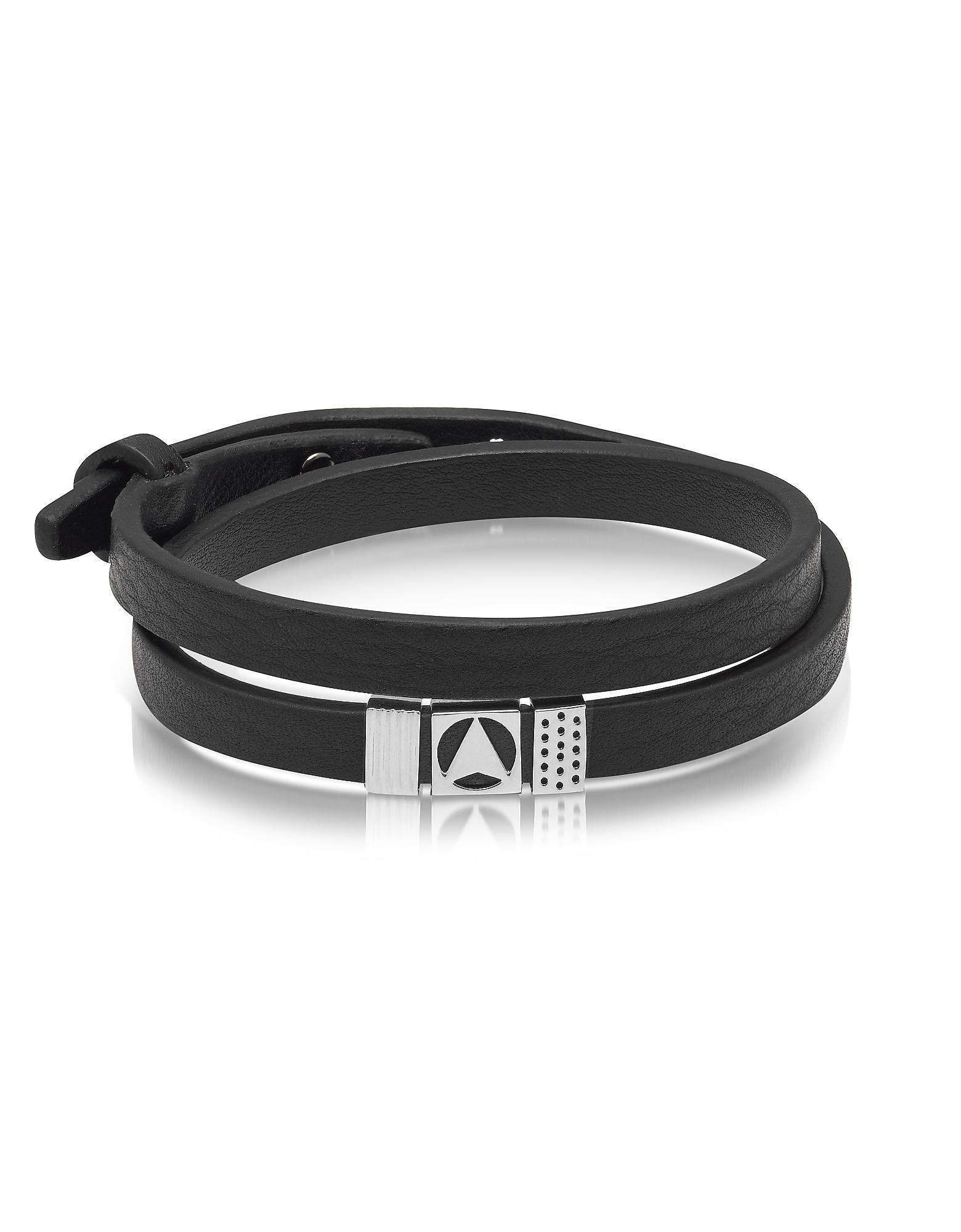 Northskull Insignia bracelet - Black EavJc