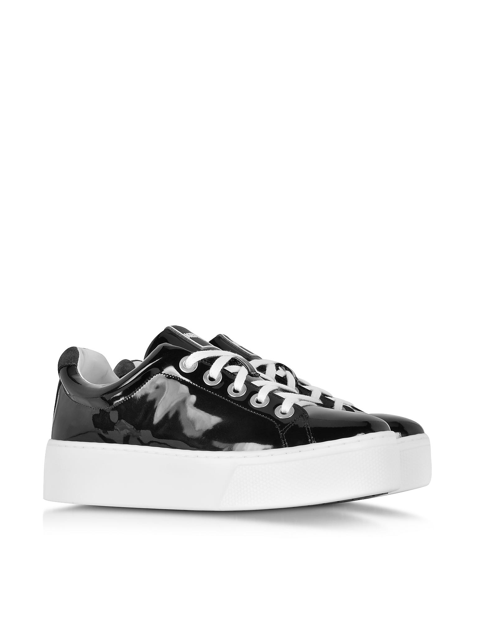 Kenzo Platform Shoes Rubber Slip On Model