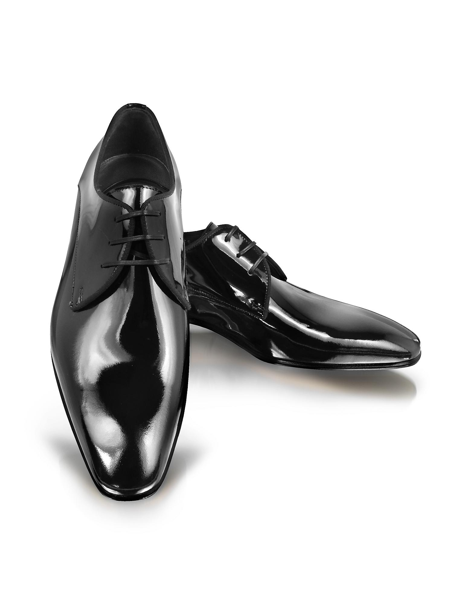 Clearance Store Outlet Derby patent leather black Moreschi Free Shipping Sast Ebay For Sale Pictures bvn5l