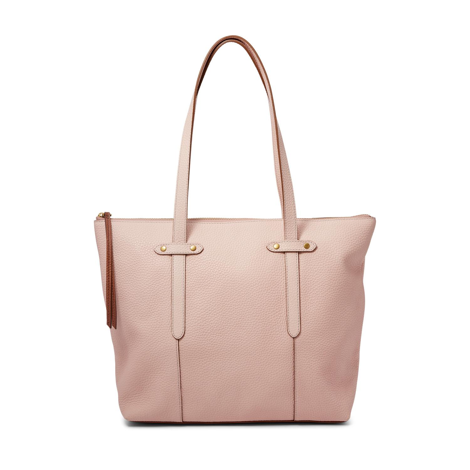c149028ac Fossil Felicity Tote Handbags Dusty Rose in Pink - Lyst