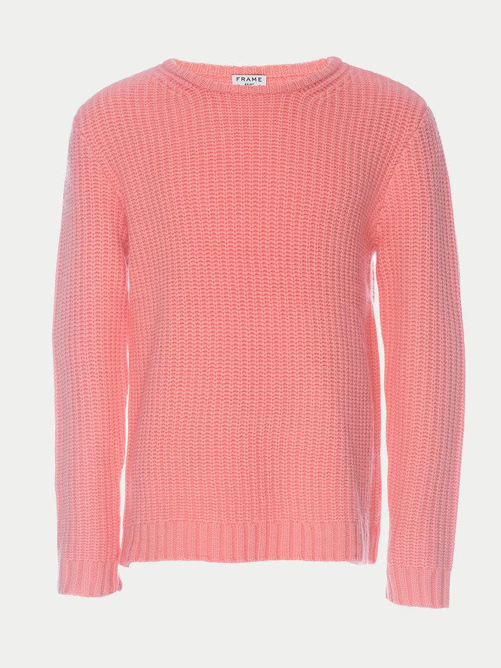 138e53fc7751a FRAME Slouchy Crew Sweater in Pink for Men - Lyst