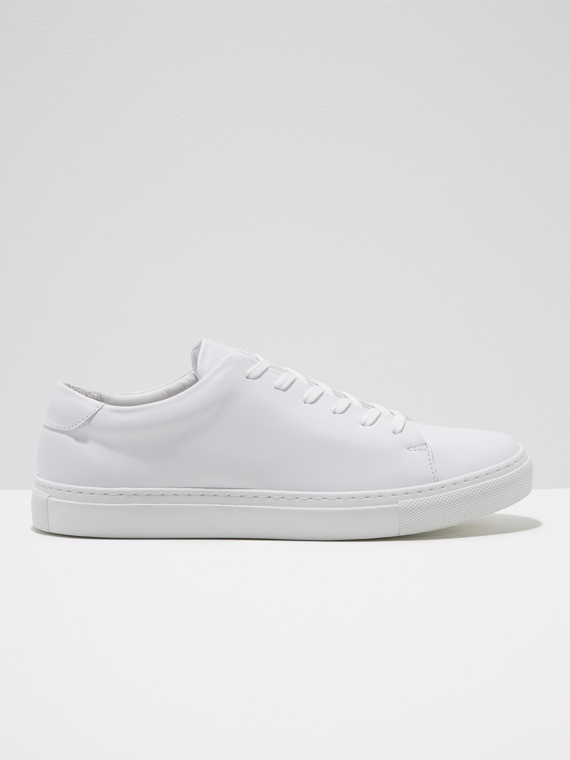 Oak Park Leather Low-top Sneakers