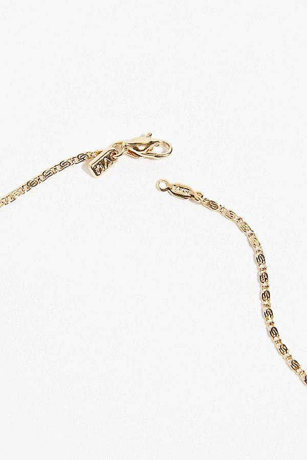 Free People Panther Necklace By Vanessa Mooney in Gold (Metallic)