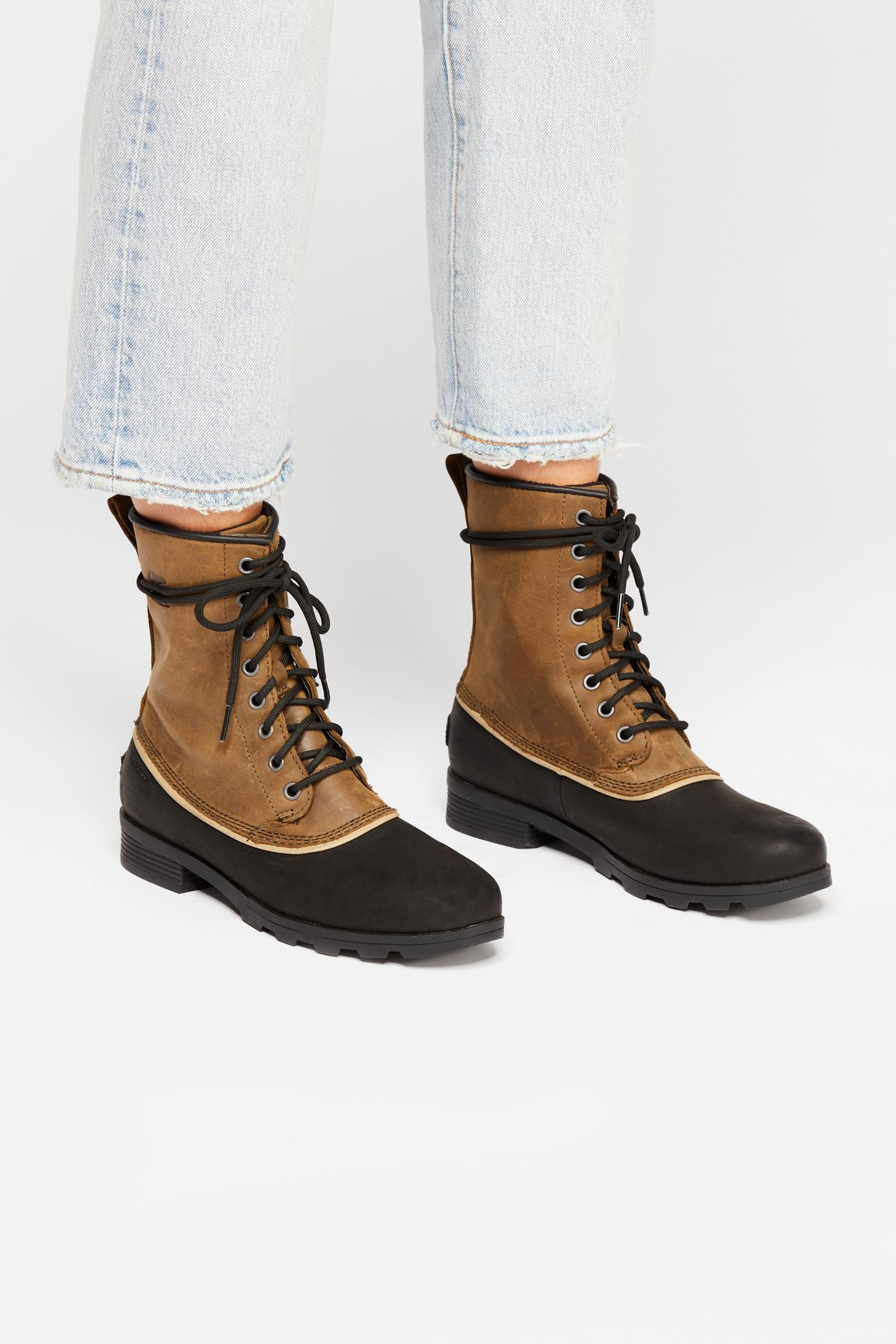 91b79fda0 Free People Emelie 1964 Weather Boot By Sorel in Gray - Lyst