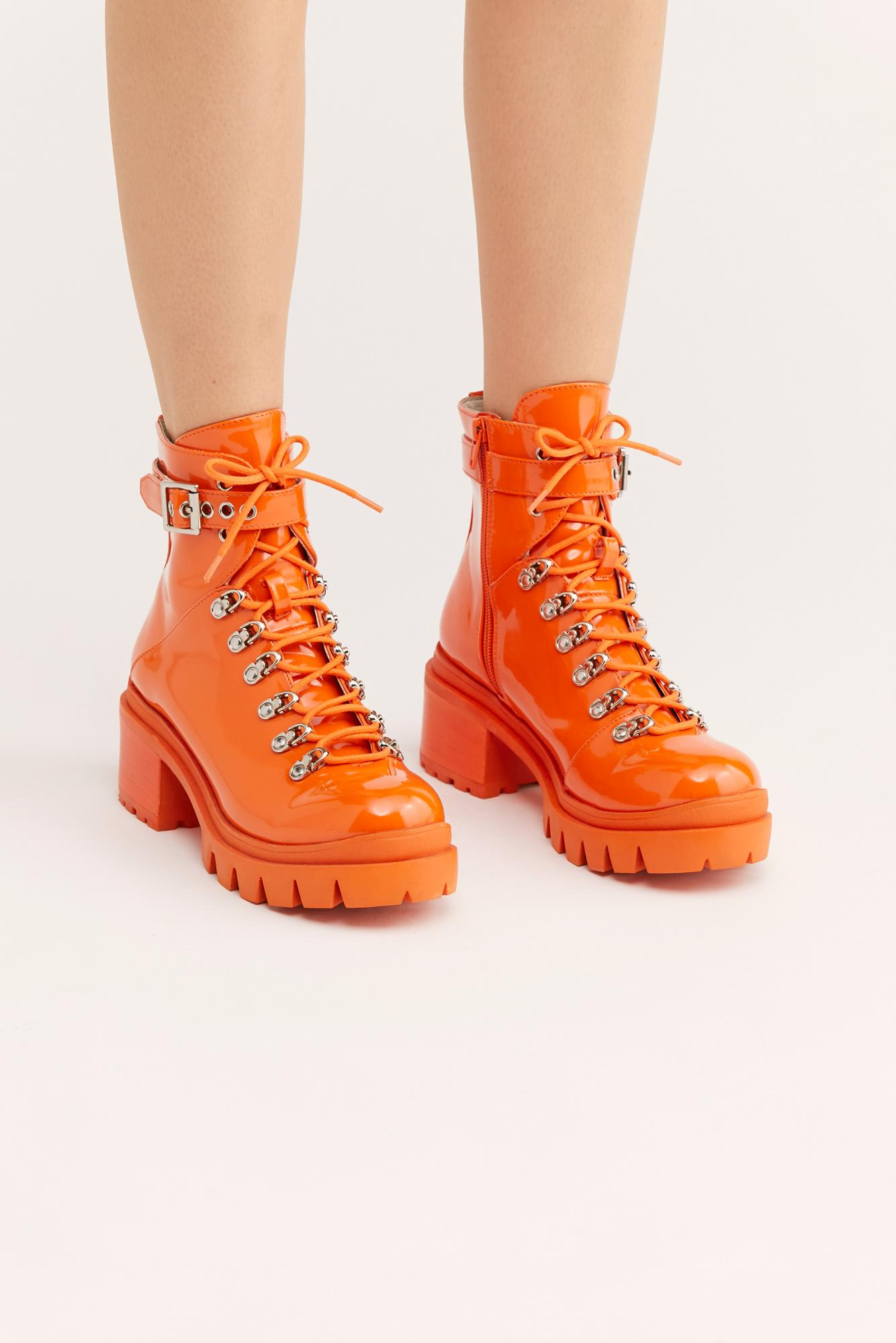 Check Lace-up Boot By Jeffrey Campbell