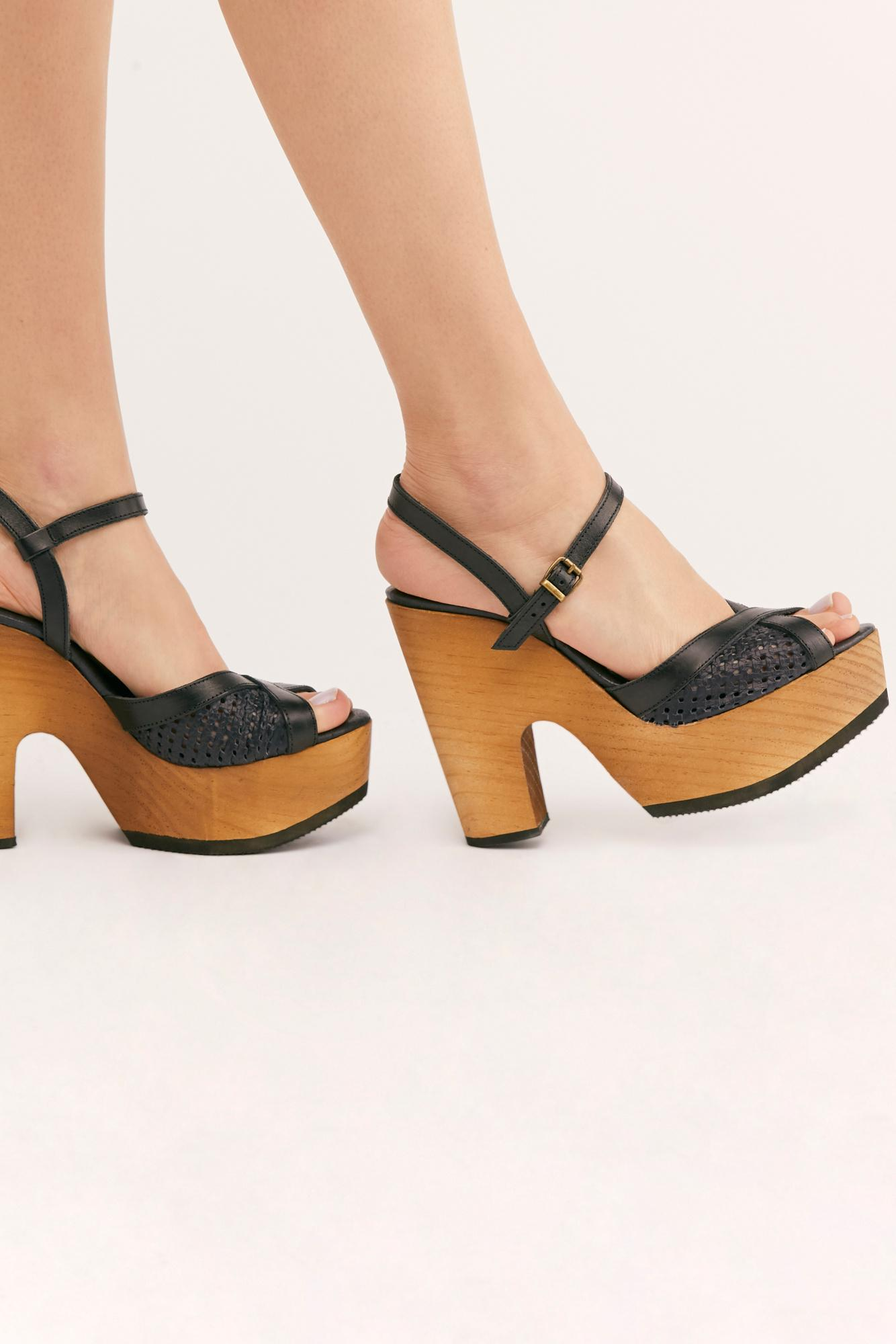 29ce325c696 Lyst - Free People Rendezvous Platform By Fp Movement in Black