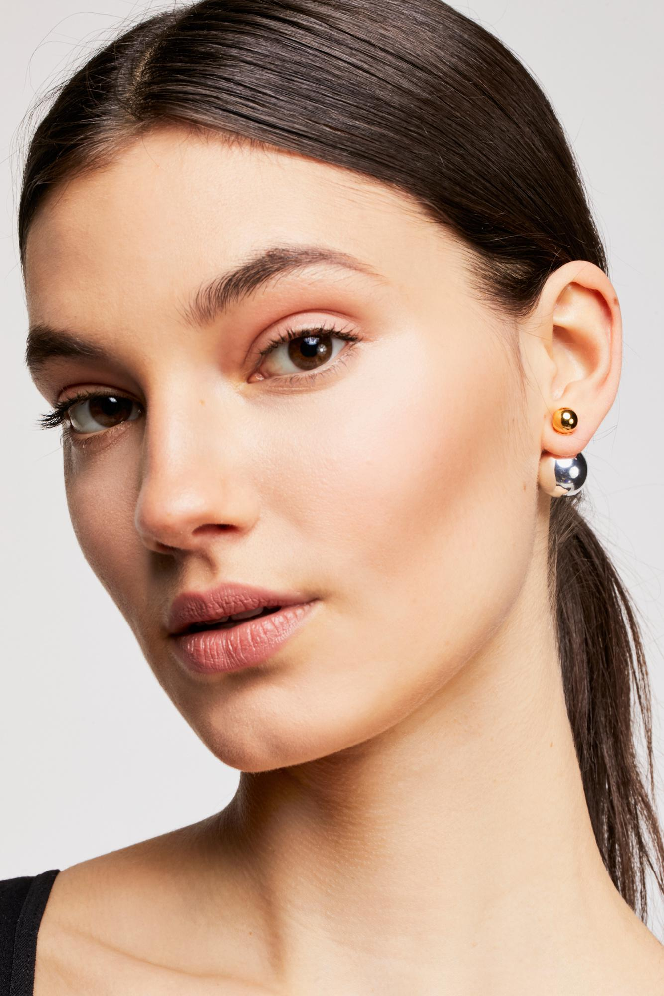 8e03bdbd5 Free People Double Sided Orbit Stud Earrings By Sterling Forever ...