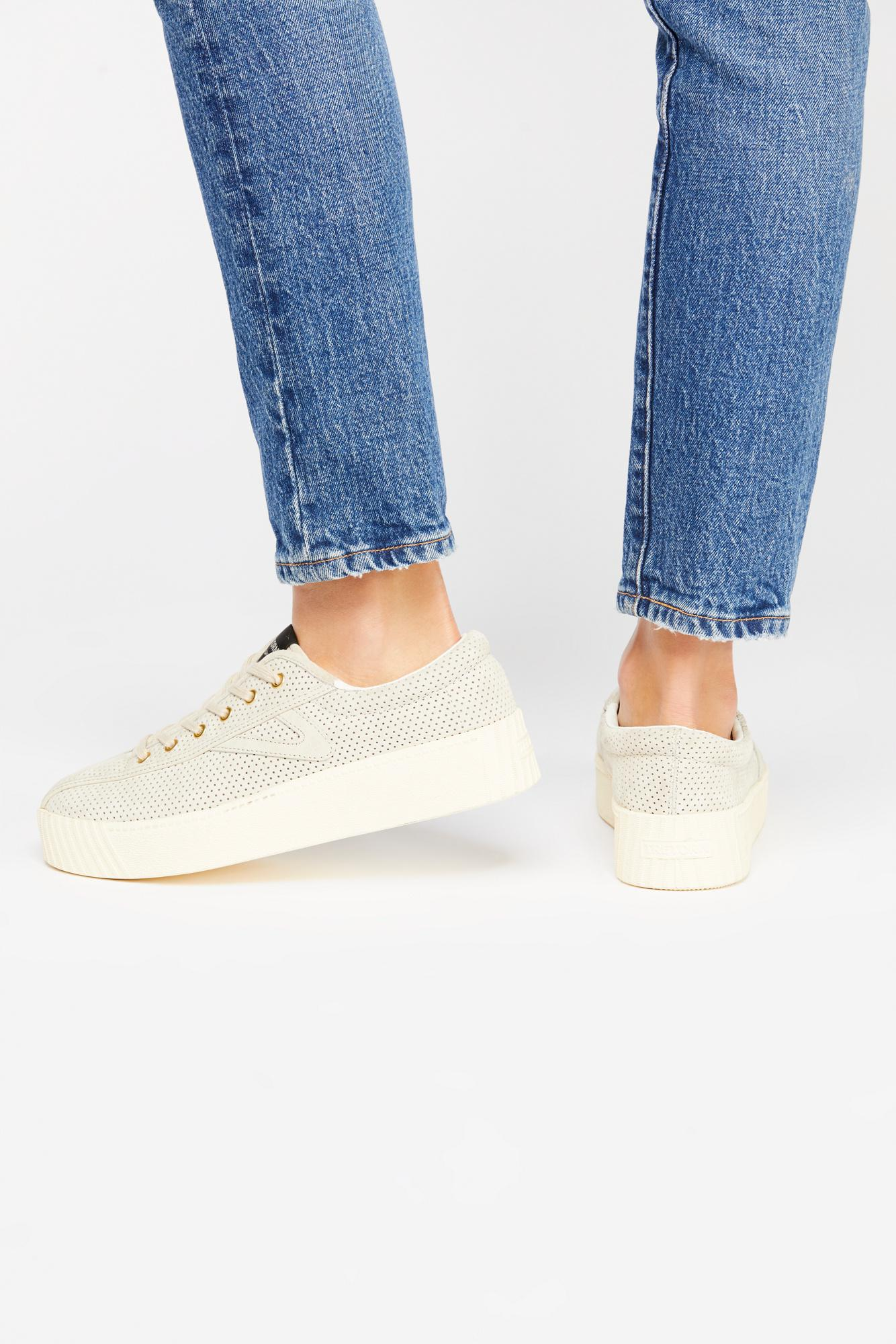 Suede Nylite Platform Sneaker