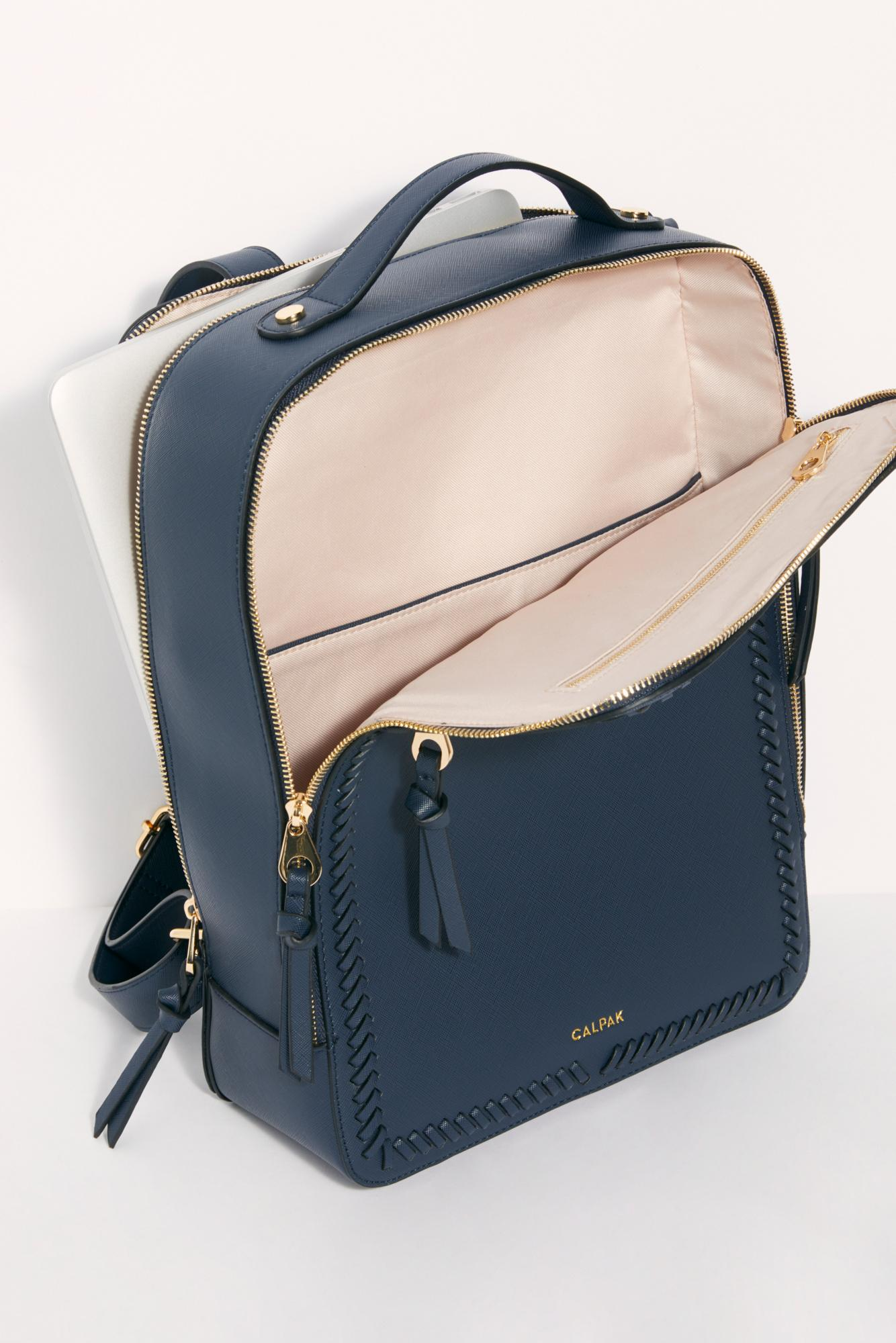 2dbbaae6d Free People Kaya Laptop Backpack By Calpak in Blue - Lyst