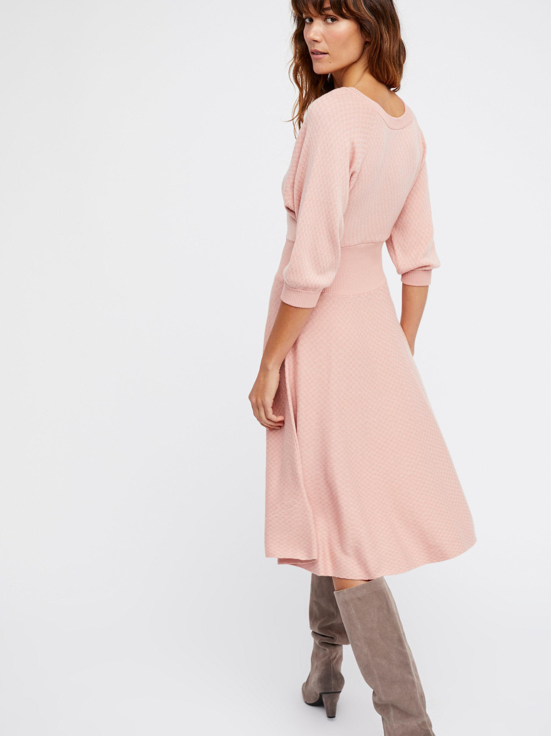 9241209eddf5 Free People Sweater Dress - Dress Foto and Picture