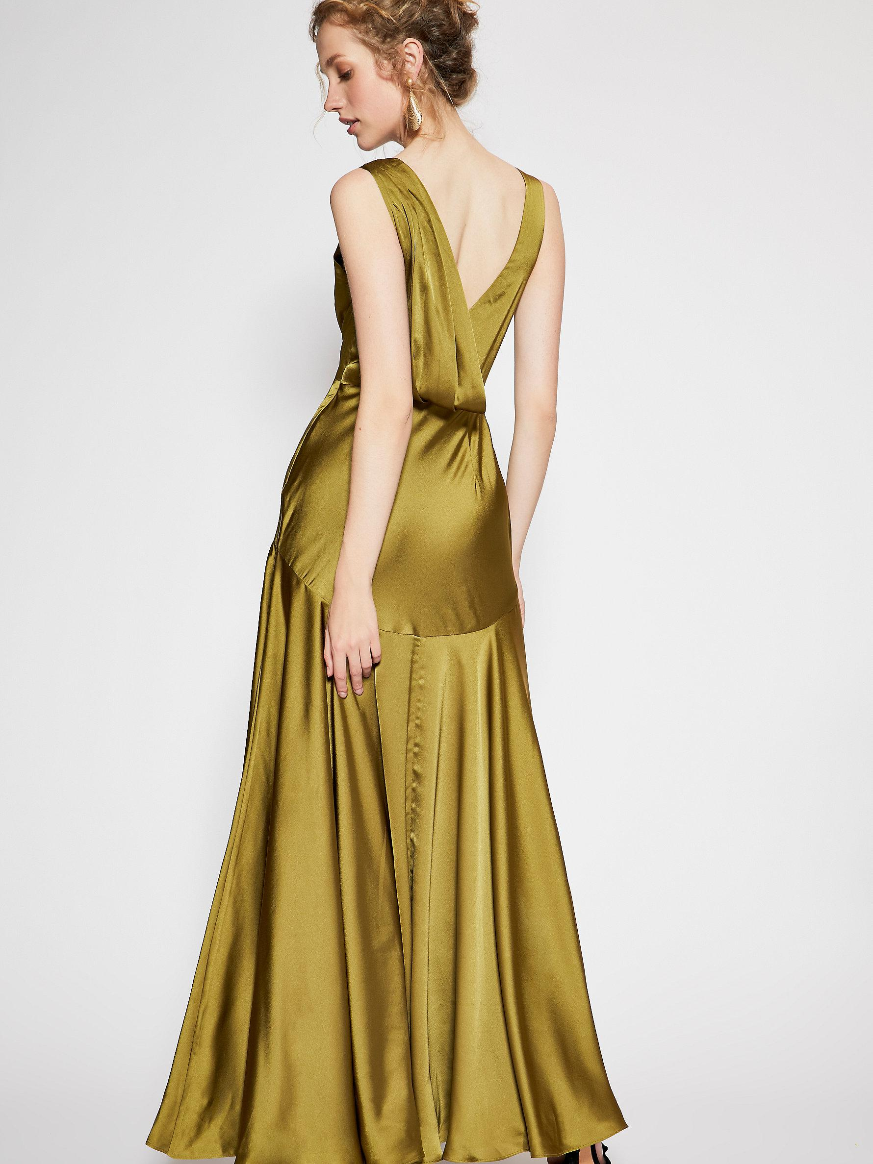 3a9c062c88 Free People Essie Maxi Dress in Green - Lyst