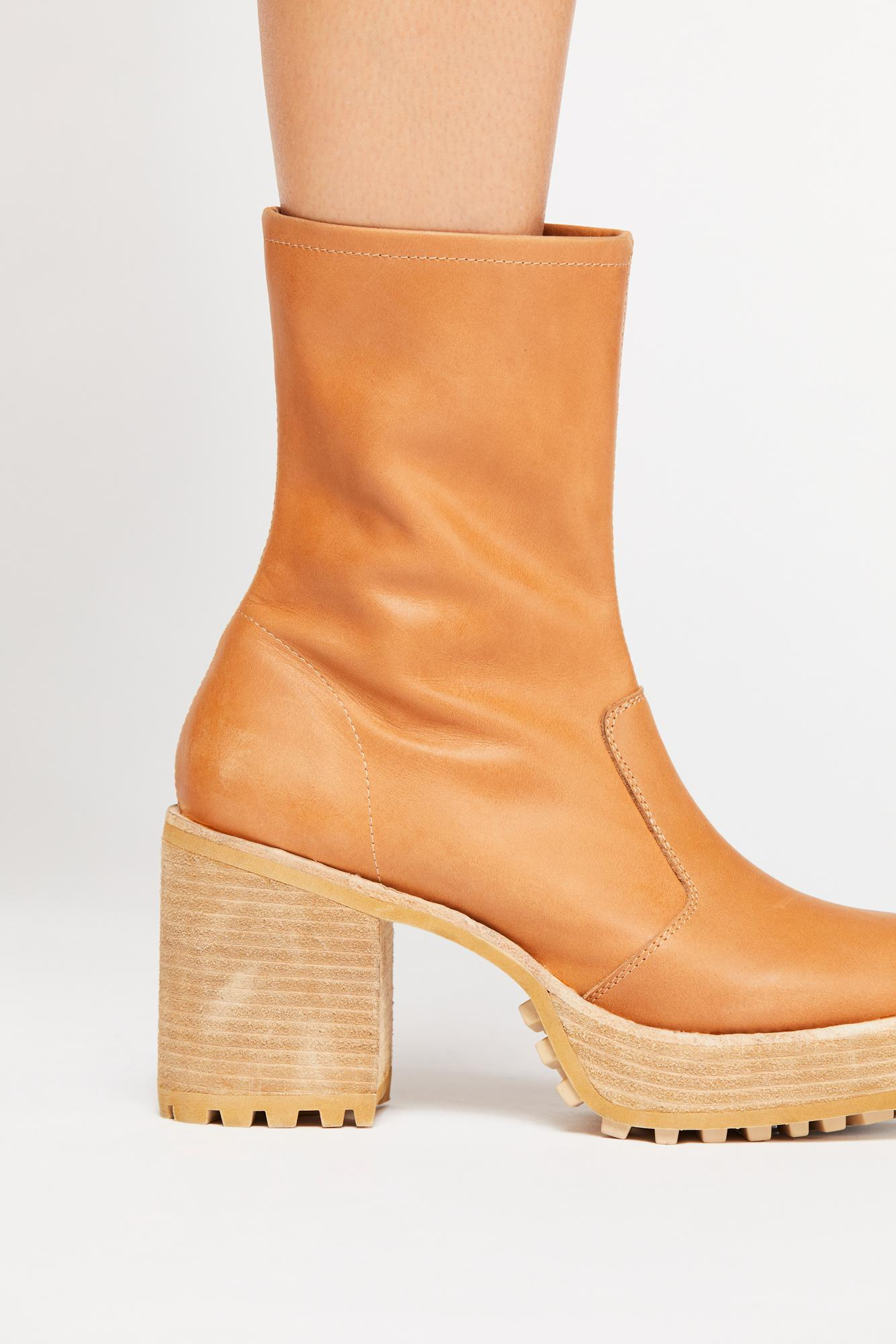 44eed61b56ff Lyst - Free People Costella Platform Boot
