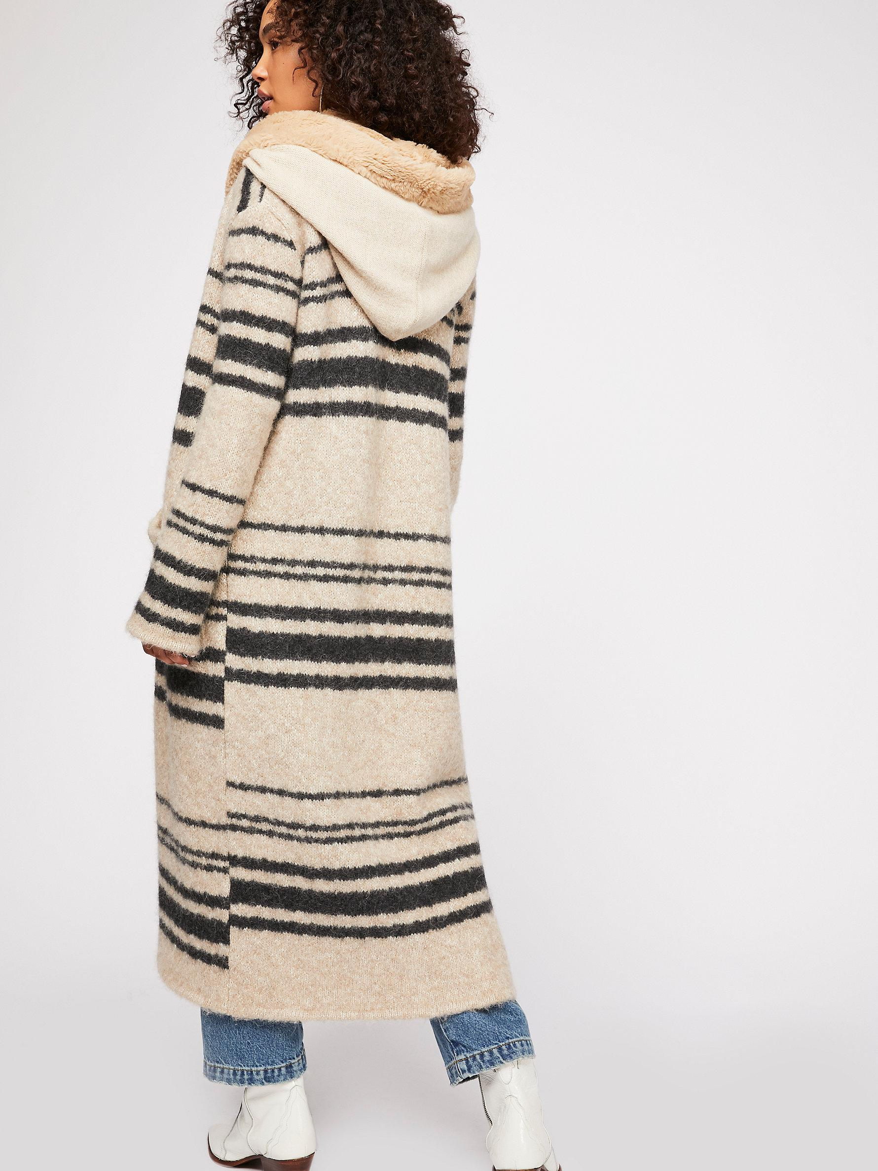 ec256cfc2 Lyst - Free People Sweetest Thing Jumper Coat