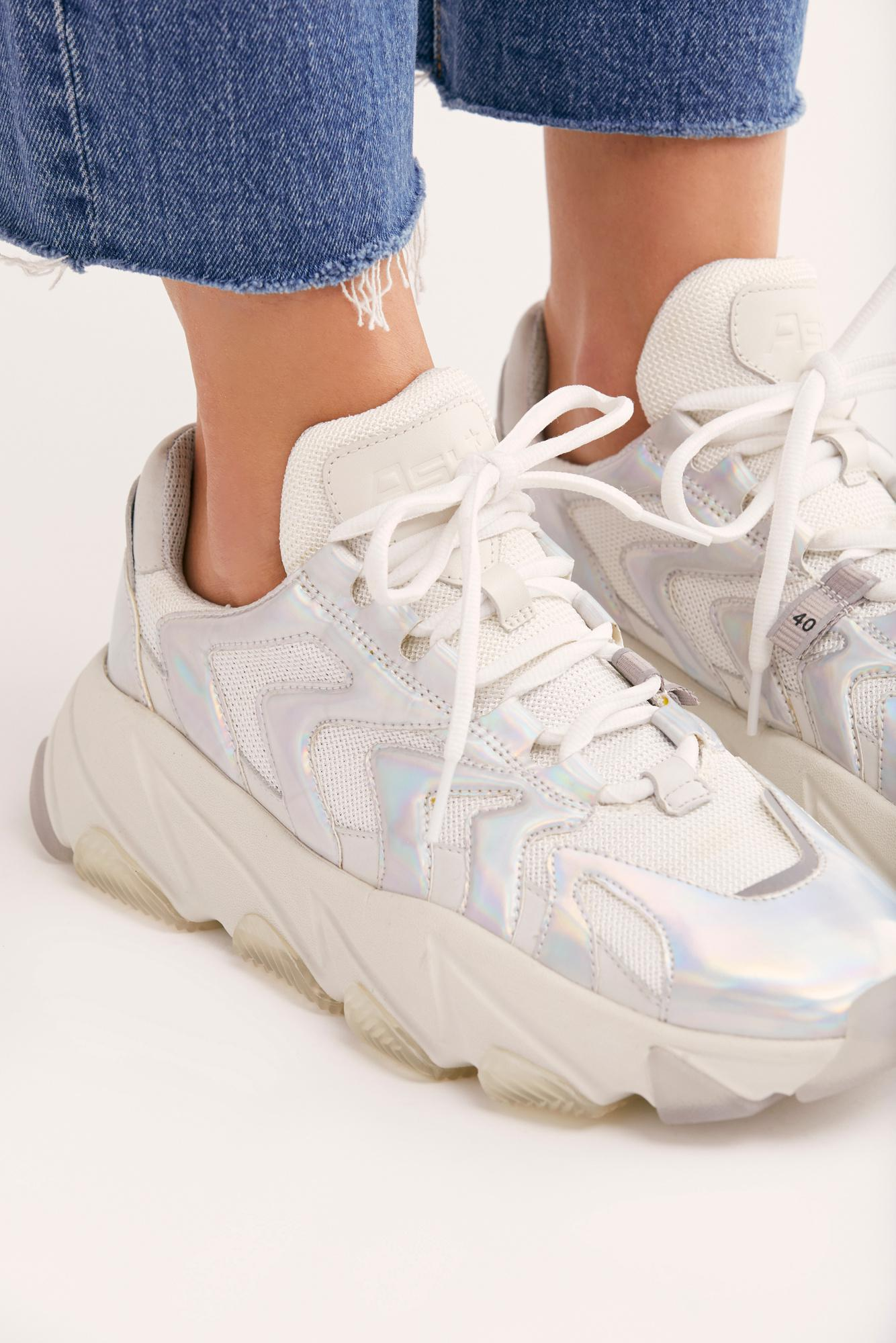 Free People Leather Ash Cosmic Silver