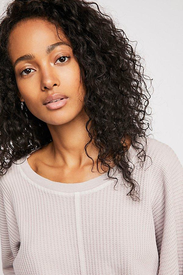 Free People Cotton Fp One Remy Thermal in Lilac (Purple)