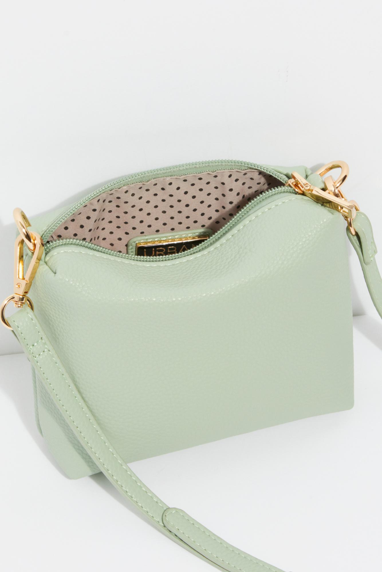 Free People Cassia Vinyl Tote By Modaluxe in Mint (Green)