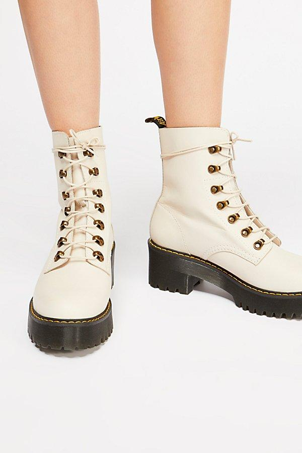 Free People Rubber Dr. Martens Leona Platform Ankle Boot