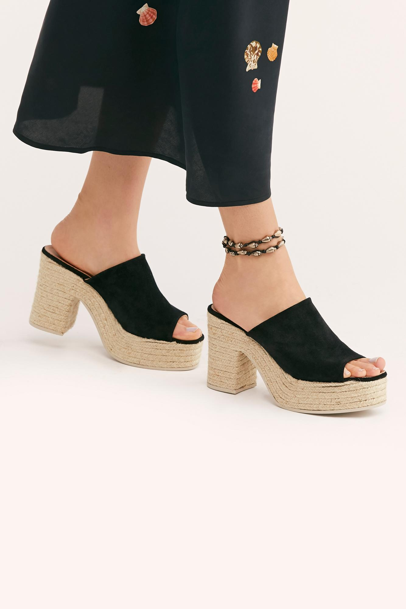 7f80210161a Free People Black Larisa Espadrille Platform By Fp Collection