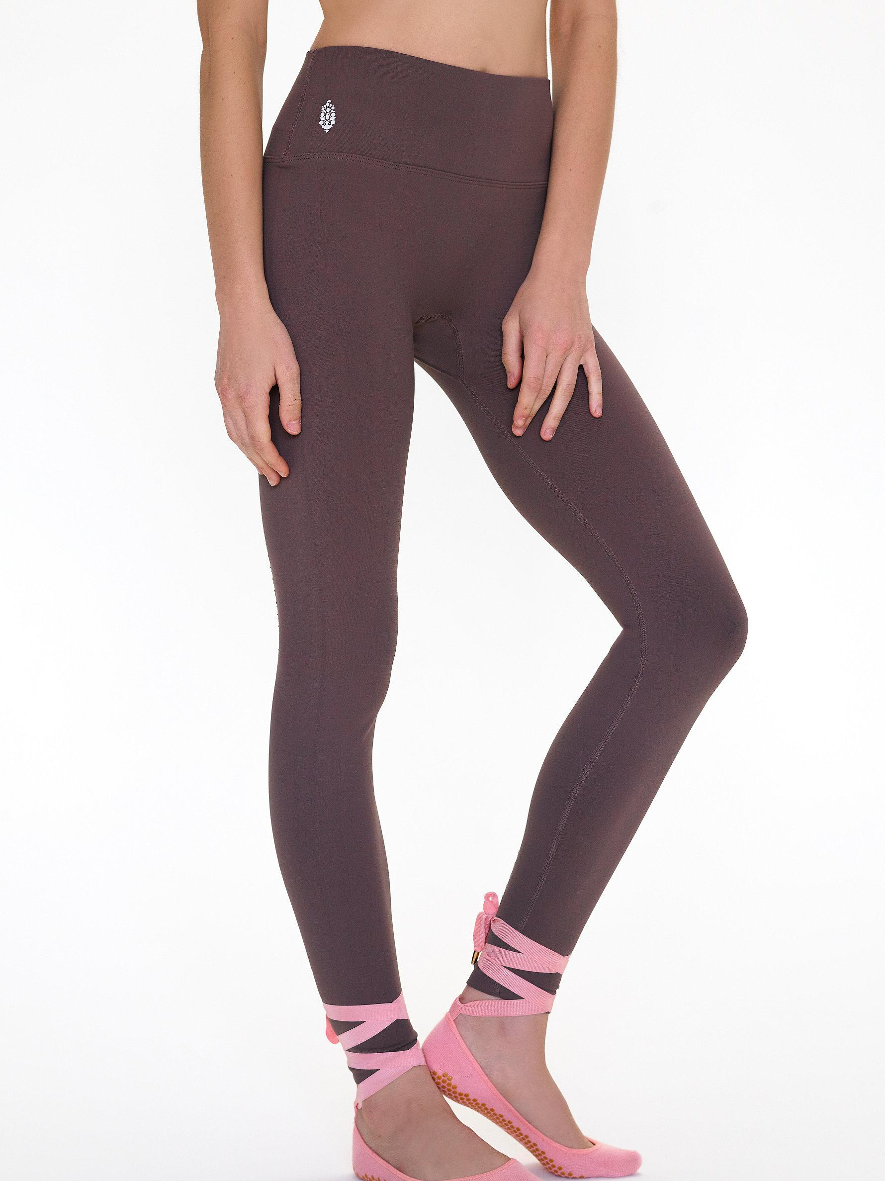 21c041a9f27318 Free People Seamless Contour Legging in Purple - Lyst
