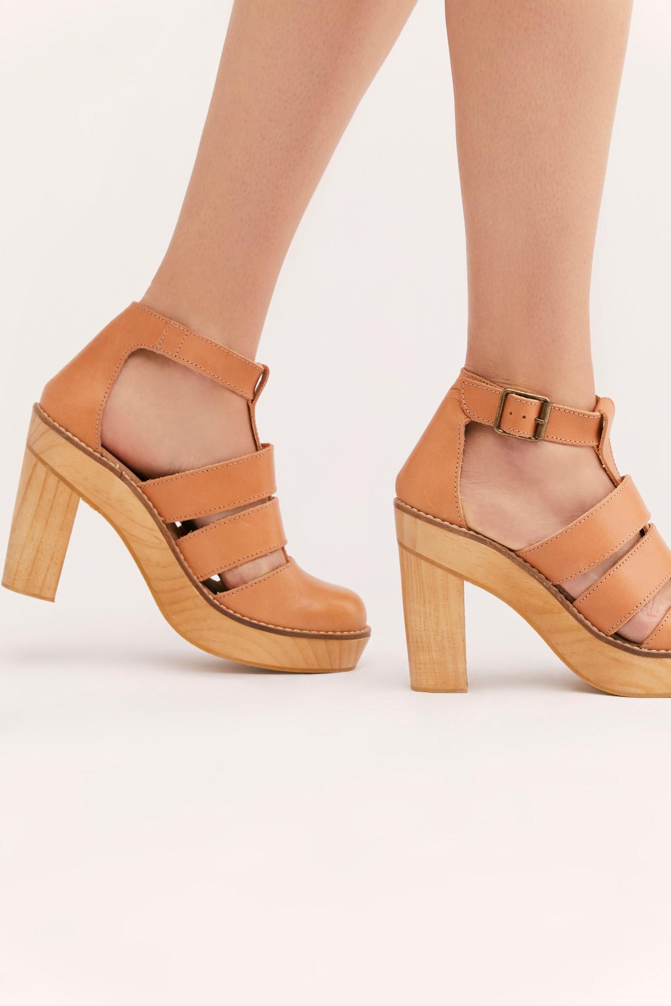 1865ed4b10d Lyst - Free People Mix It Up Platform By Fp Collection in Natural