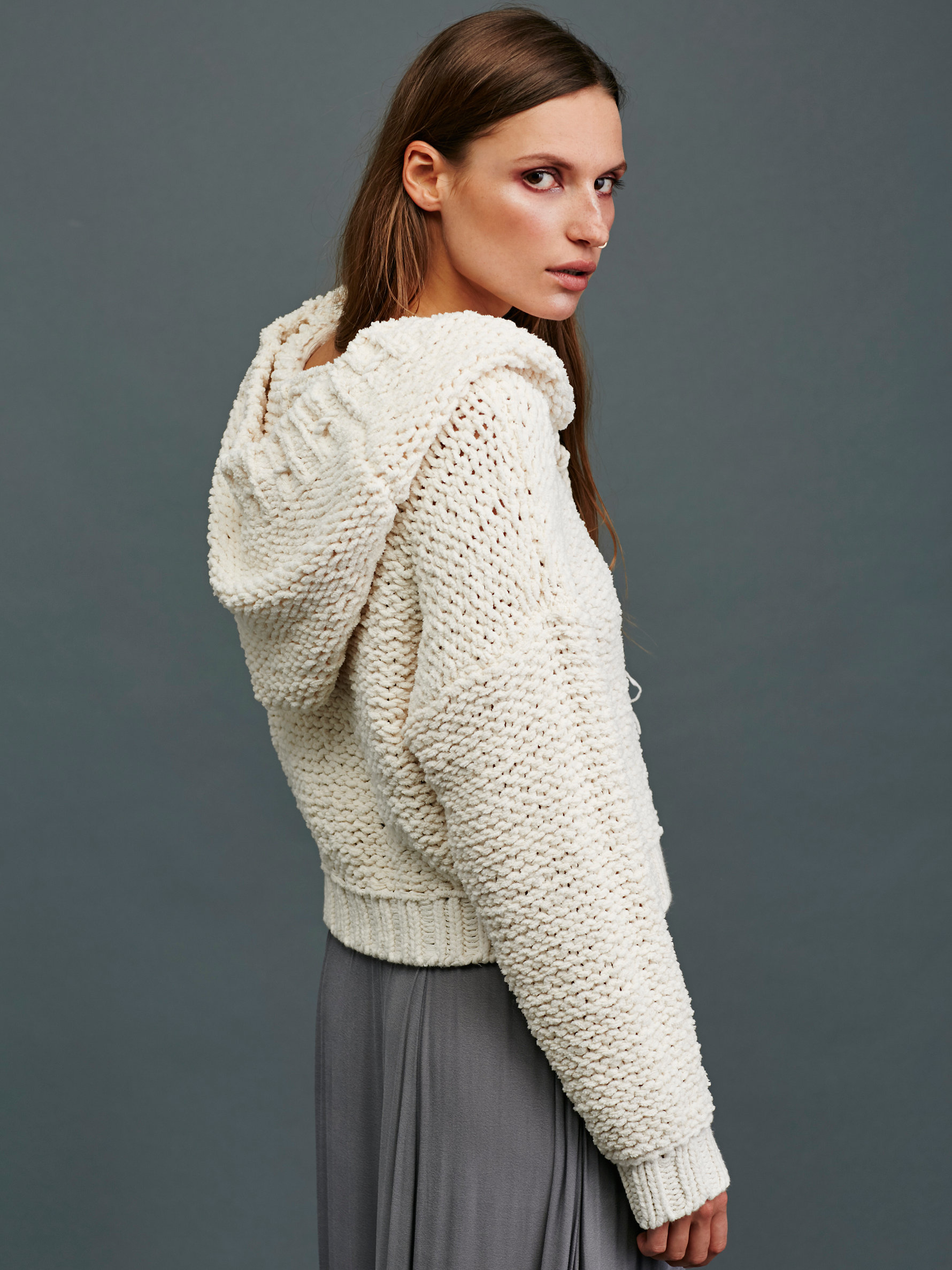 Free People Anemone Beach Pullover In White Lyst