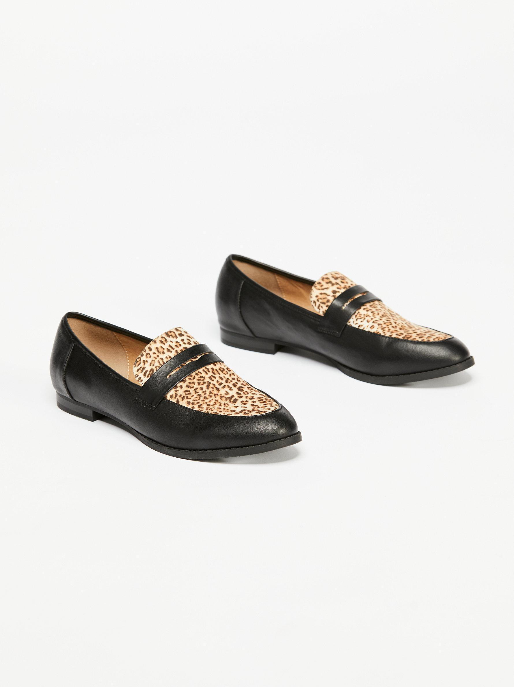 a7ac72bbd68 Free People Lou Lou Penny Loafer By Restricted in Black - Lyst