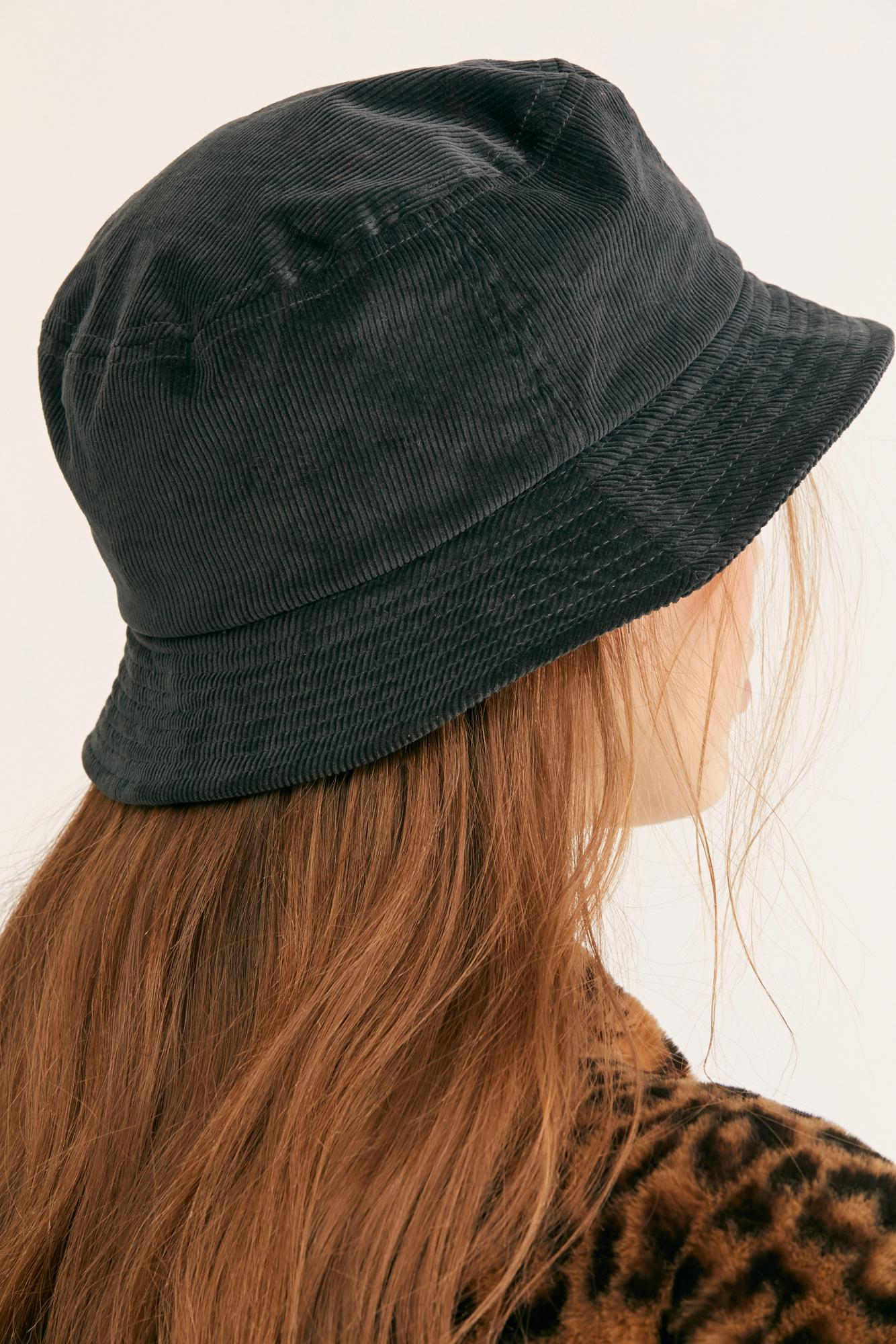 new products 2fb2a c61e3 Free People Kangol Cord Bucket Hat in Green - Lyst