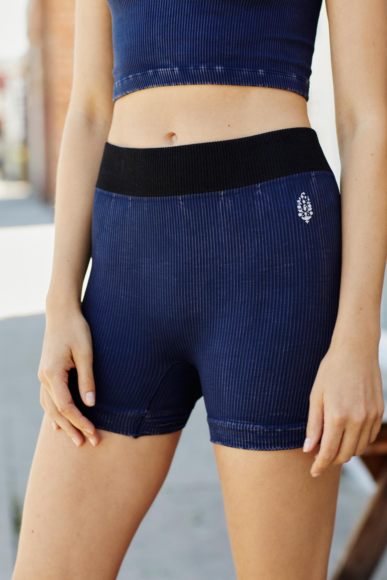 Sweatwater Mens Fitness Sports Elastic Waist Solid Cotton Short