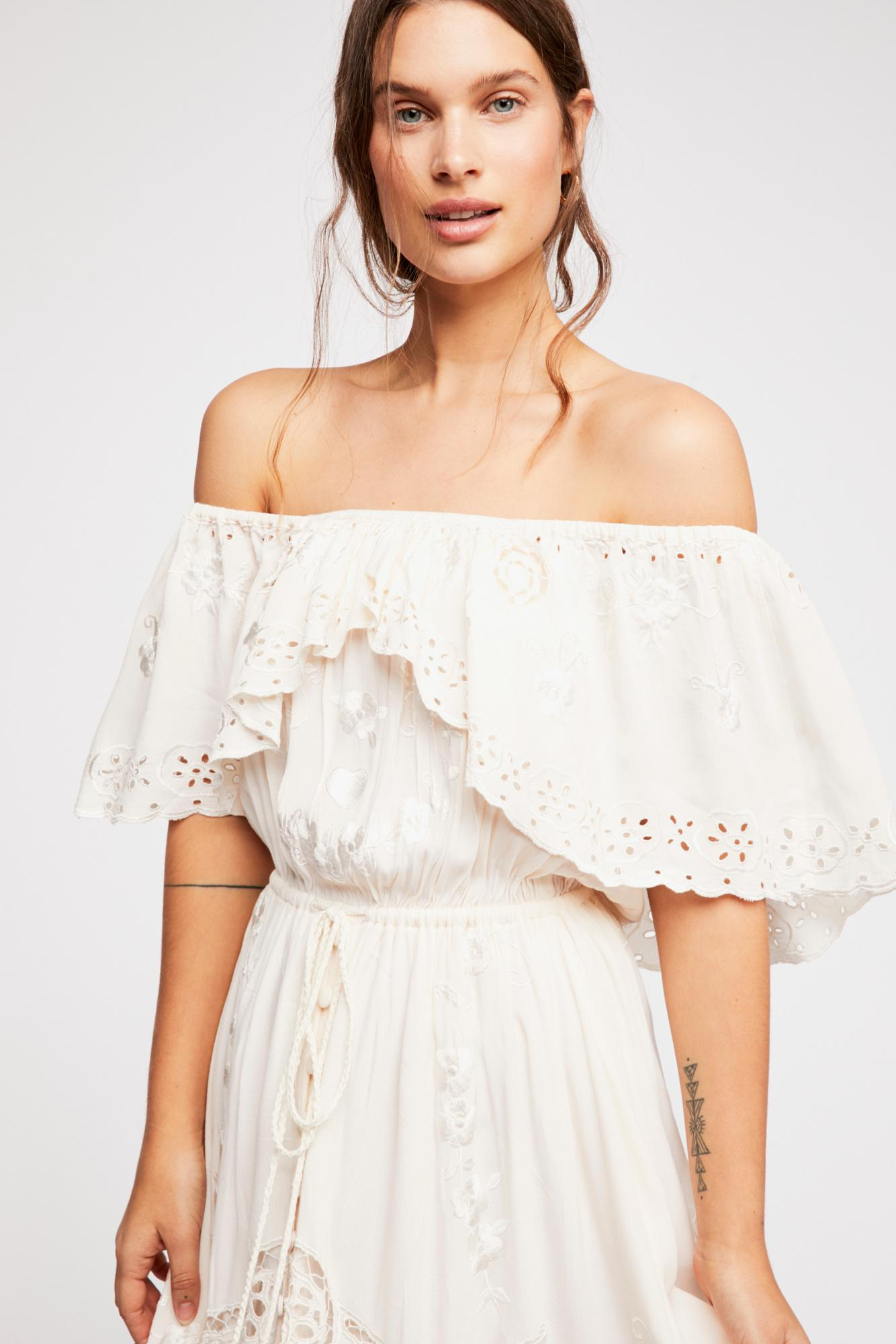 b7b866ced75 Free People Tambourine Maxi Dress By Fillyboo - Lyst